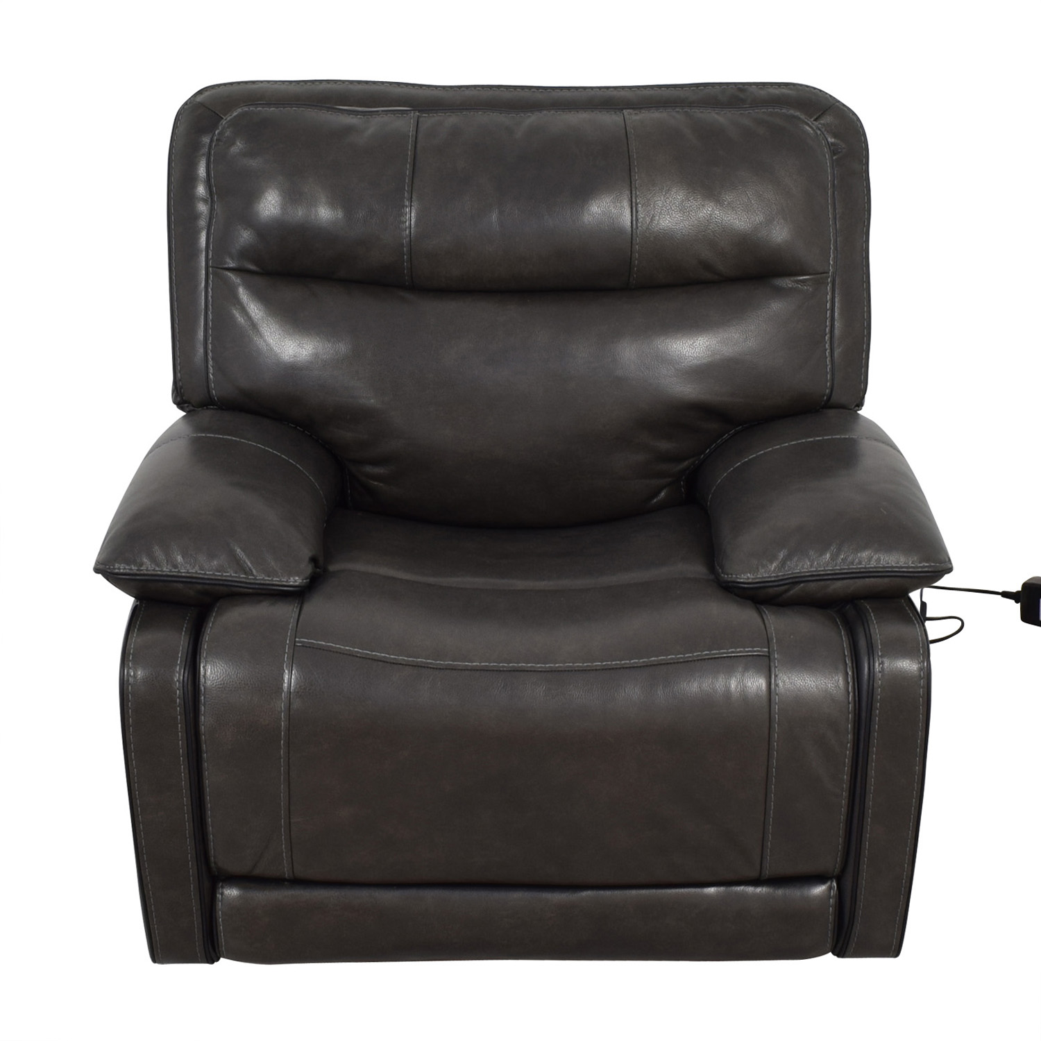 Palladum Leather Metal Power Recliner sale