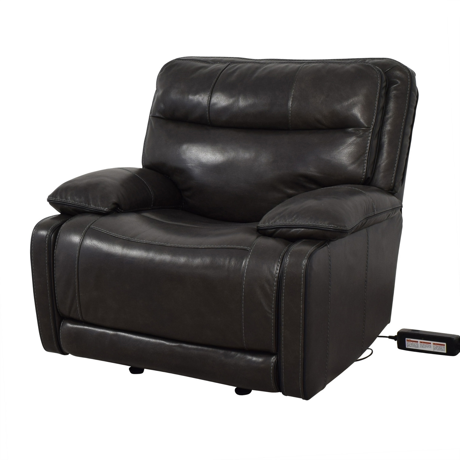 Palladum Palladum Leather Metal Power Recliner Recliners
