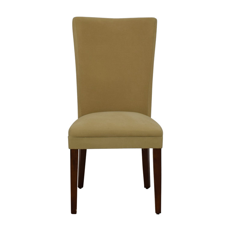 Coaster Coaster High Back Tan Upholstered Chair nyc