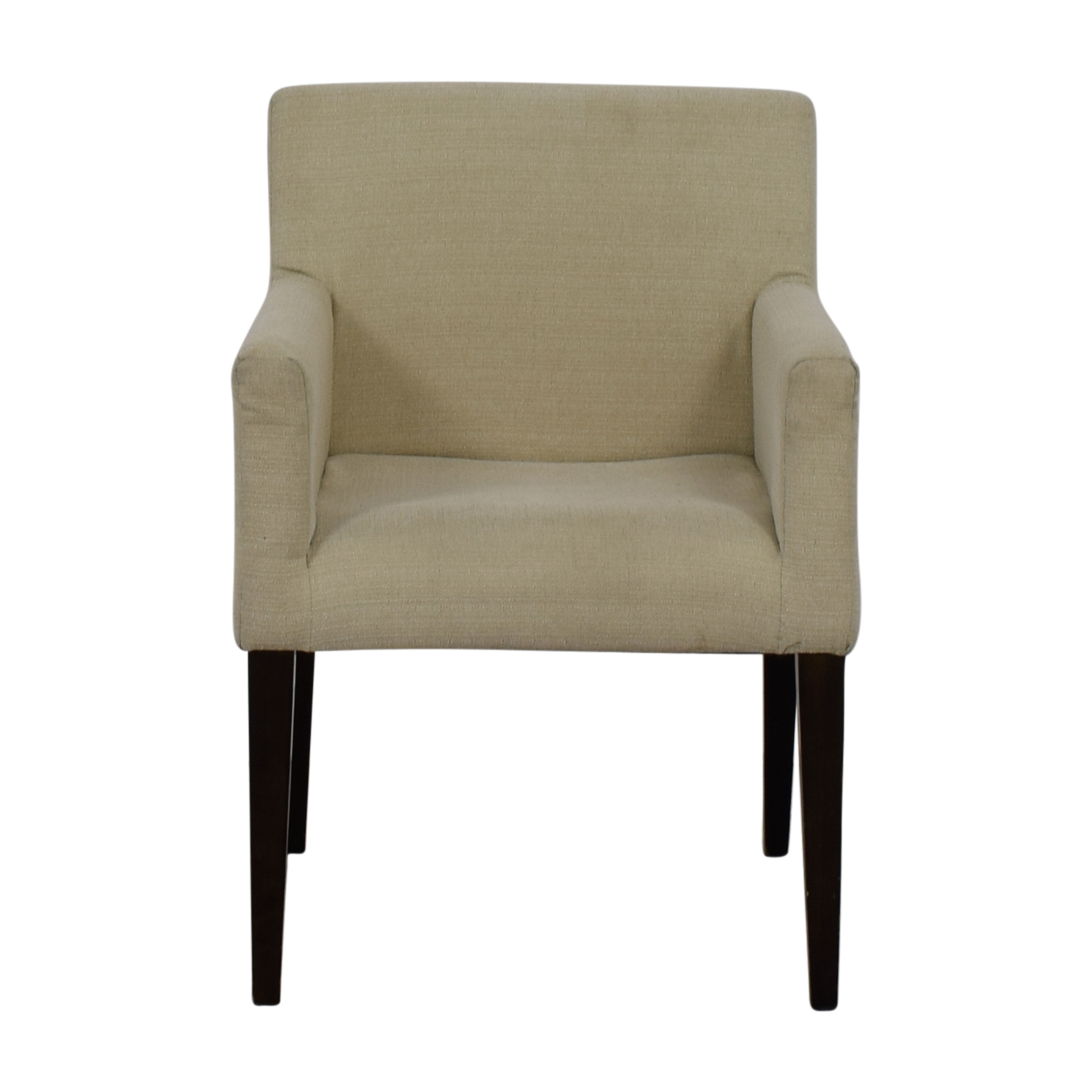 West Elm West Elm Cream Accent Chair dimensions