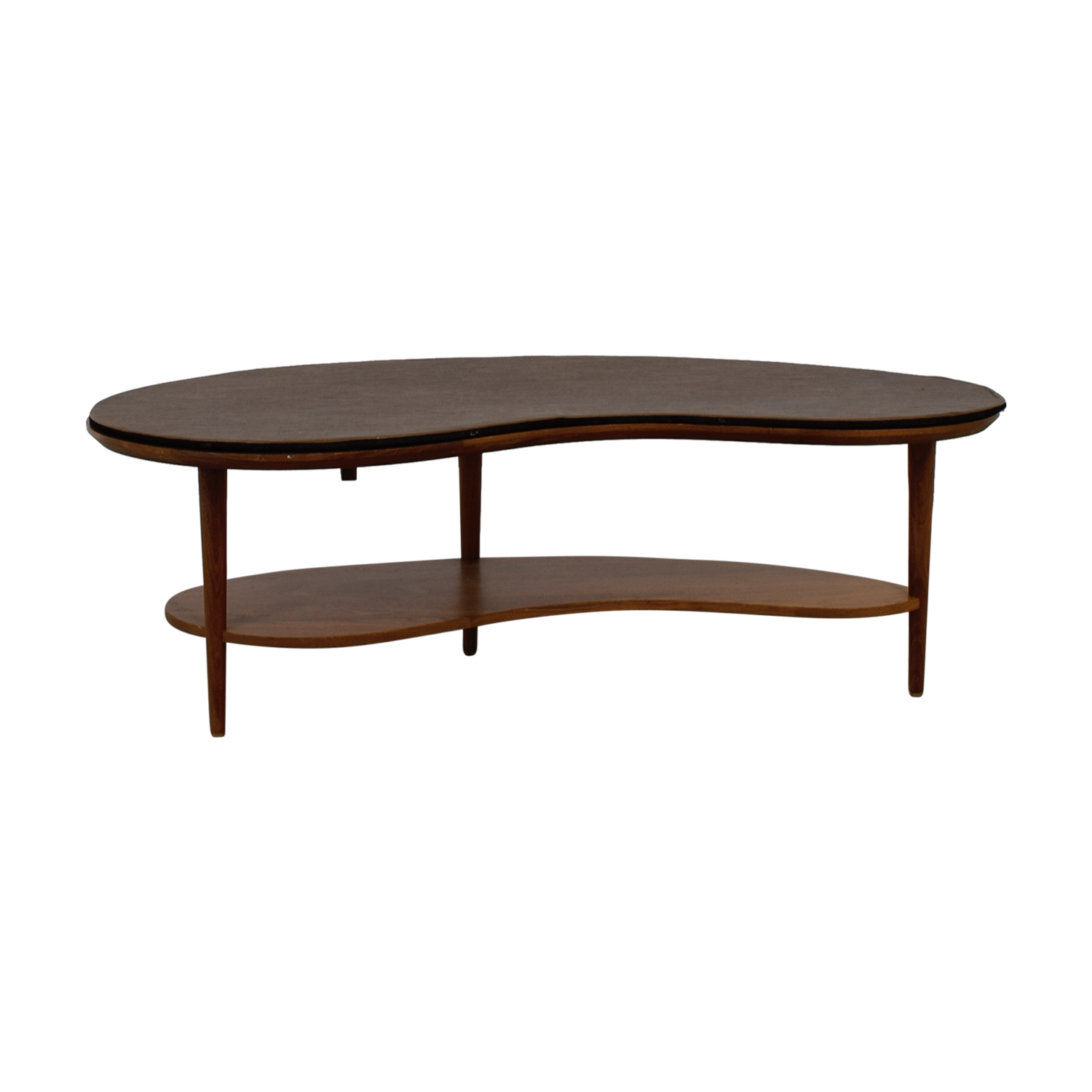 Room & Board Signed Wood Coffee Table with Pad / Tables