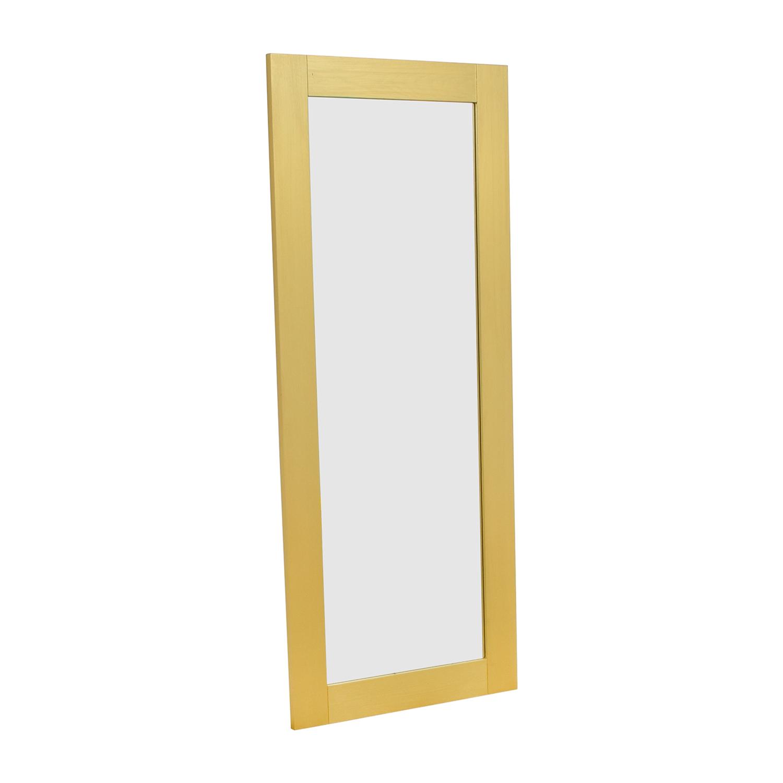 CB2 CB2 Hanging Leaning Floor Mirror discount
