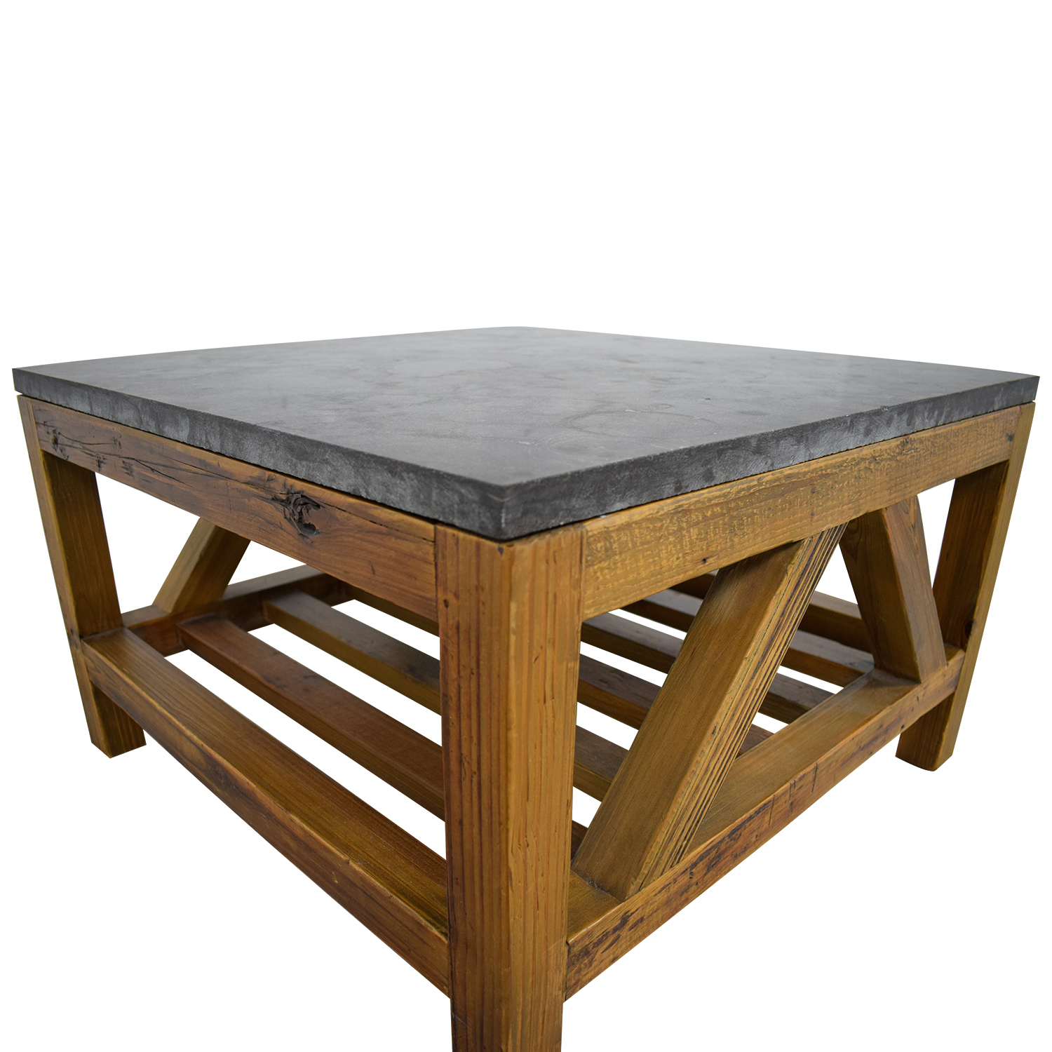 Crate And Barrel Black Marble Coffee Table: Crate & Barrel Crate & Barrel Coffee Table / Tables