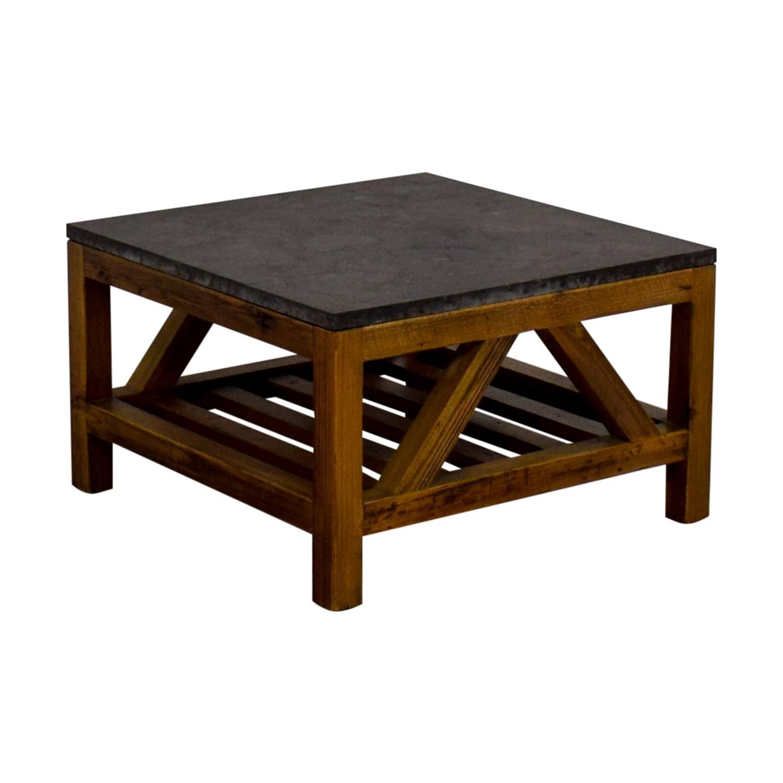 Off Crate And Barrel Crate Barrel Square Coffee Table: Crate & Barrel Crate & Barrel Coffee Table / Tables