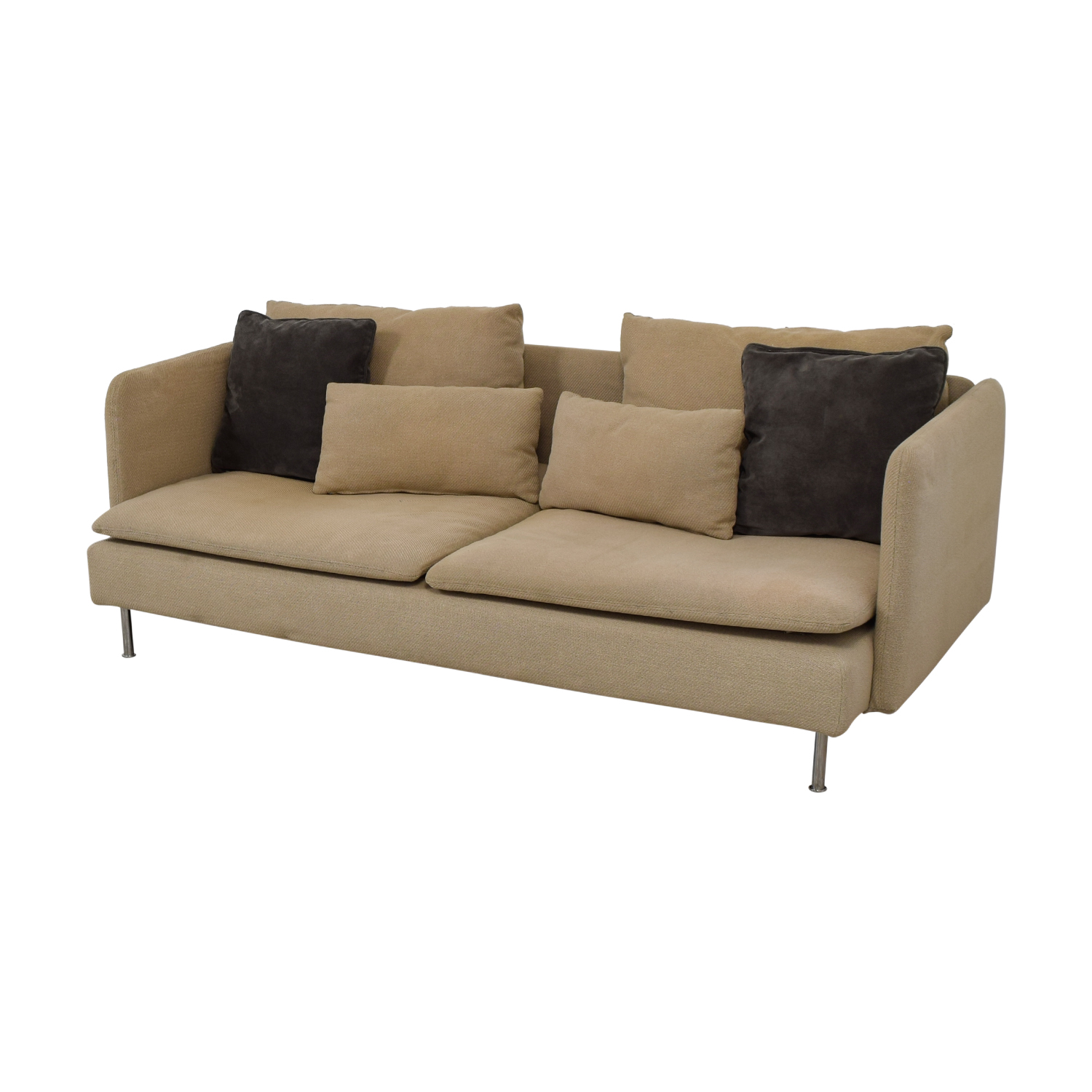 69 off ikea ikea soderhamn beige sofa sofas. Black Bedroom Furniture Sets. Home Design Ideas