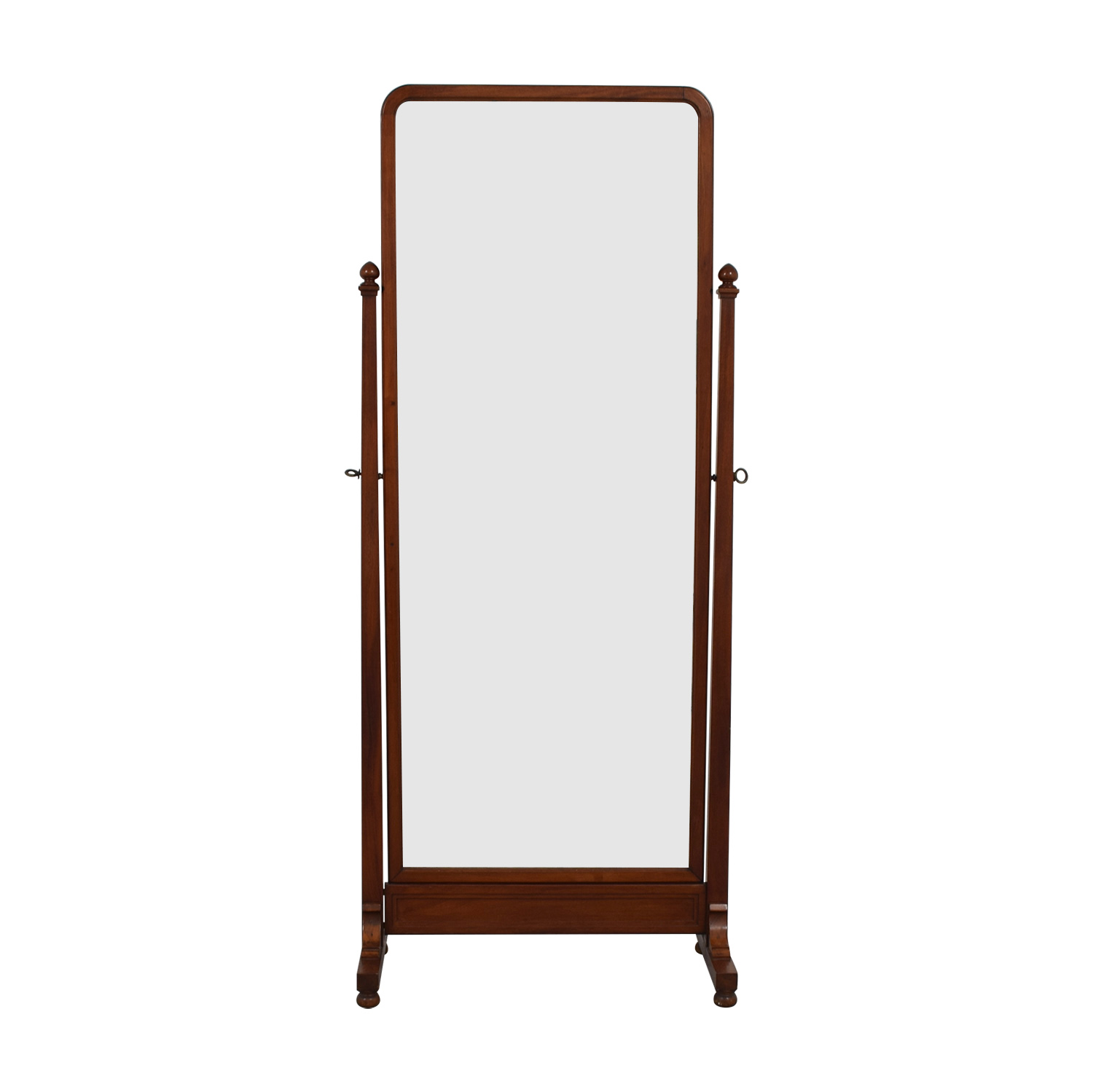 buy  Antique Walnut Cheval Mirror online