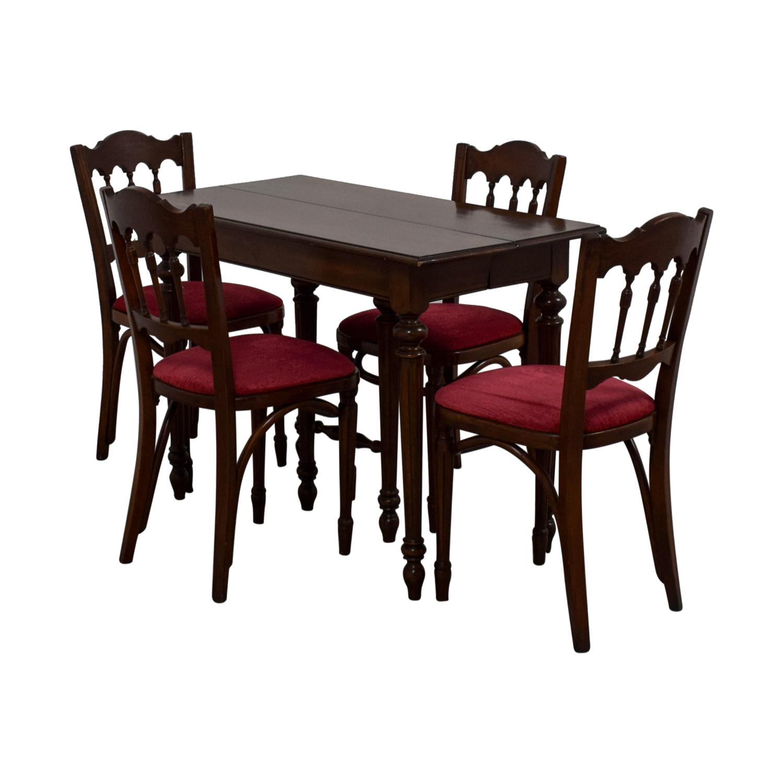 Vinatage Mahogany Dining Table Set nyc