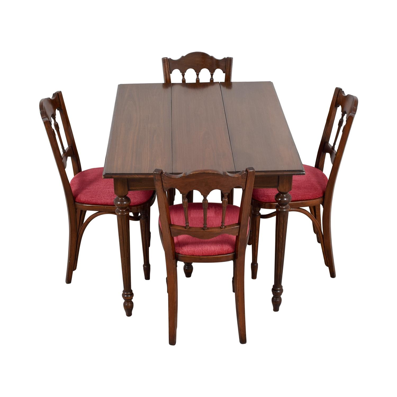 shop Vinatage Mahogany Dining Table Set  Dining Sets