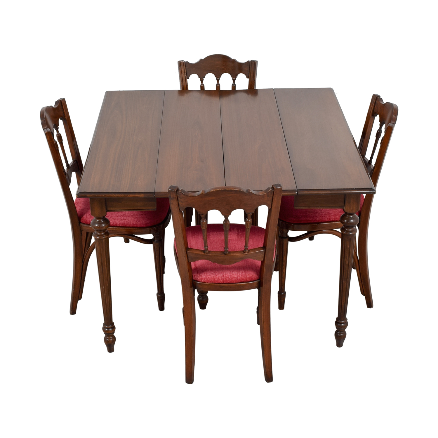 Vinatage mahogany dining table set price