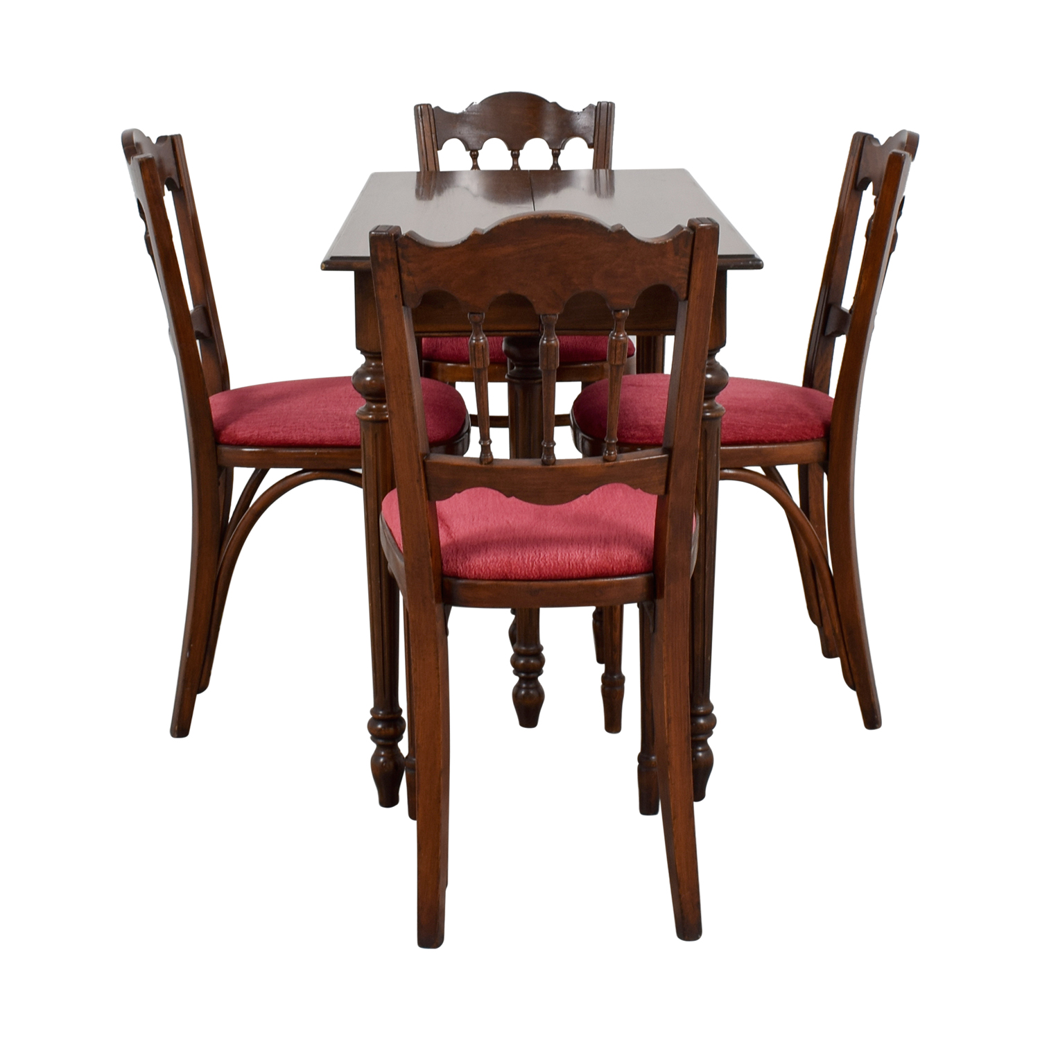 Vinatage Mahogany Dining Table Set second hand