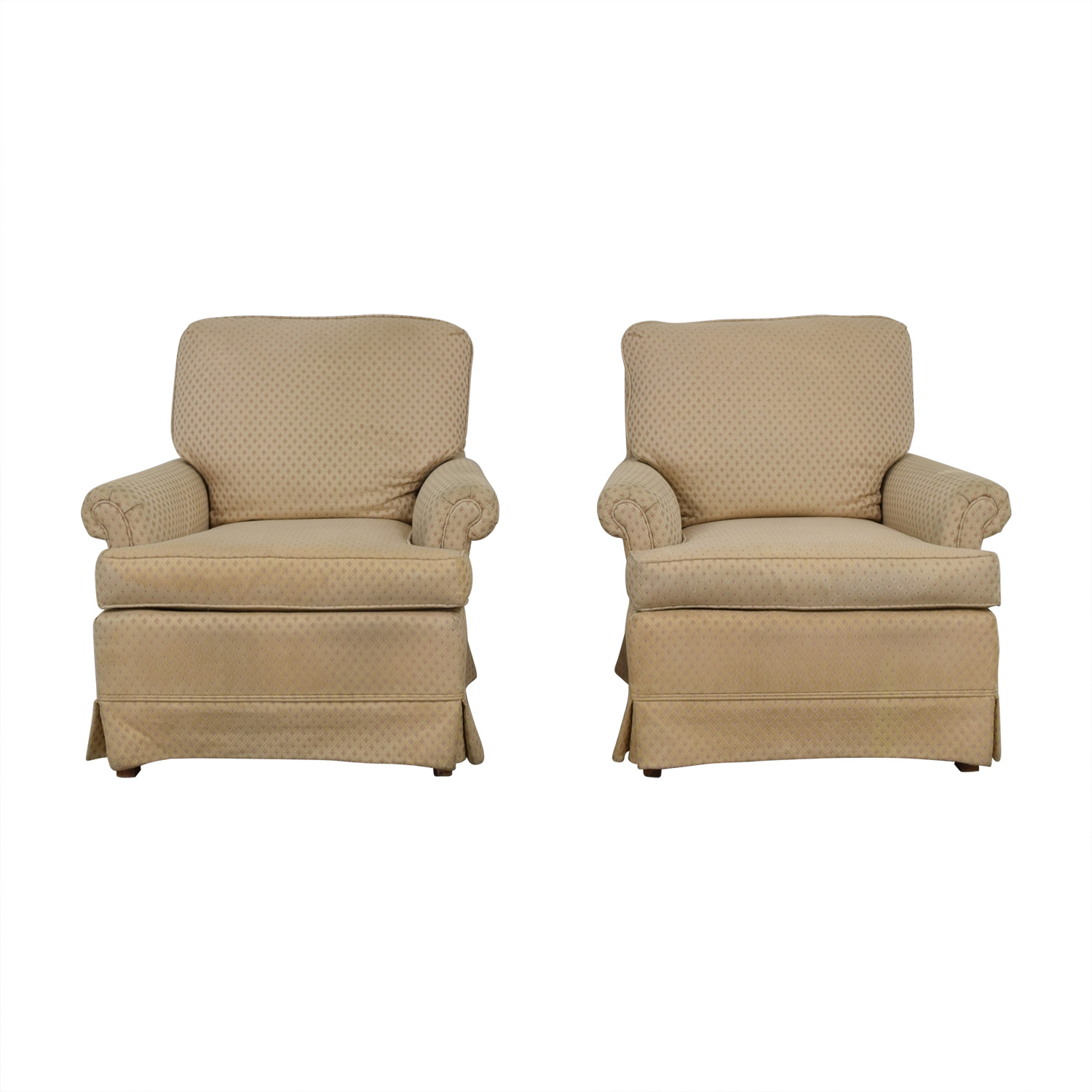 Broyhill Broyhill Beige Upholstered Accent Chairs price