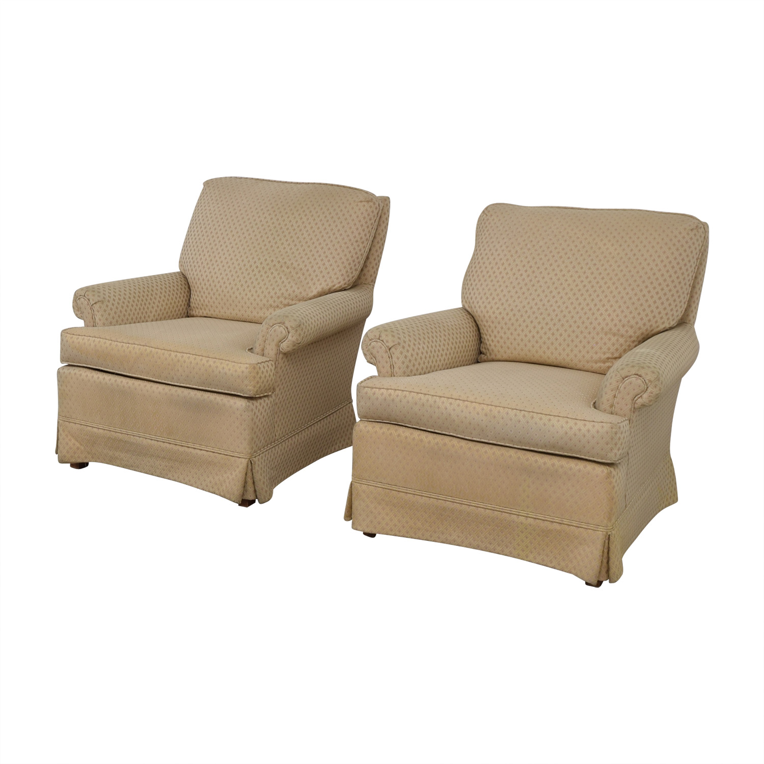 Broyhill Armchair: Broyhill Broyhill Beige Upholstered Accent