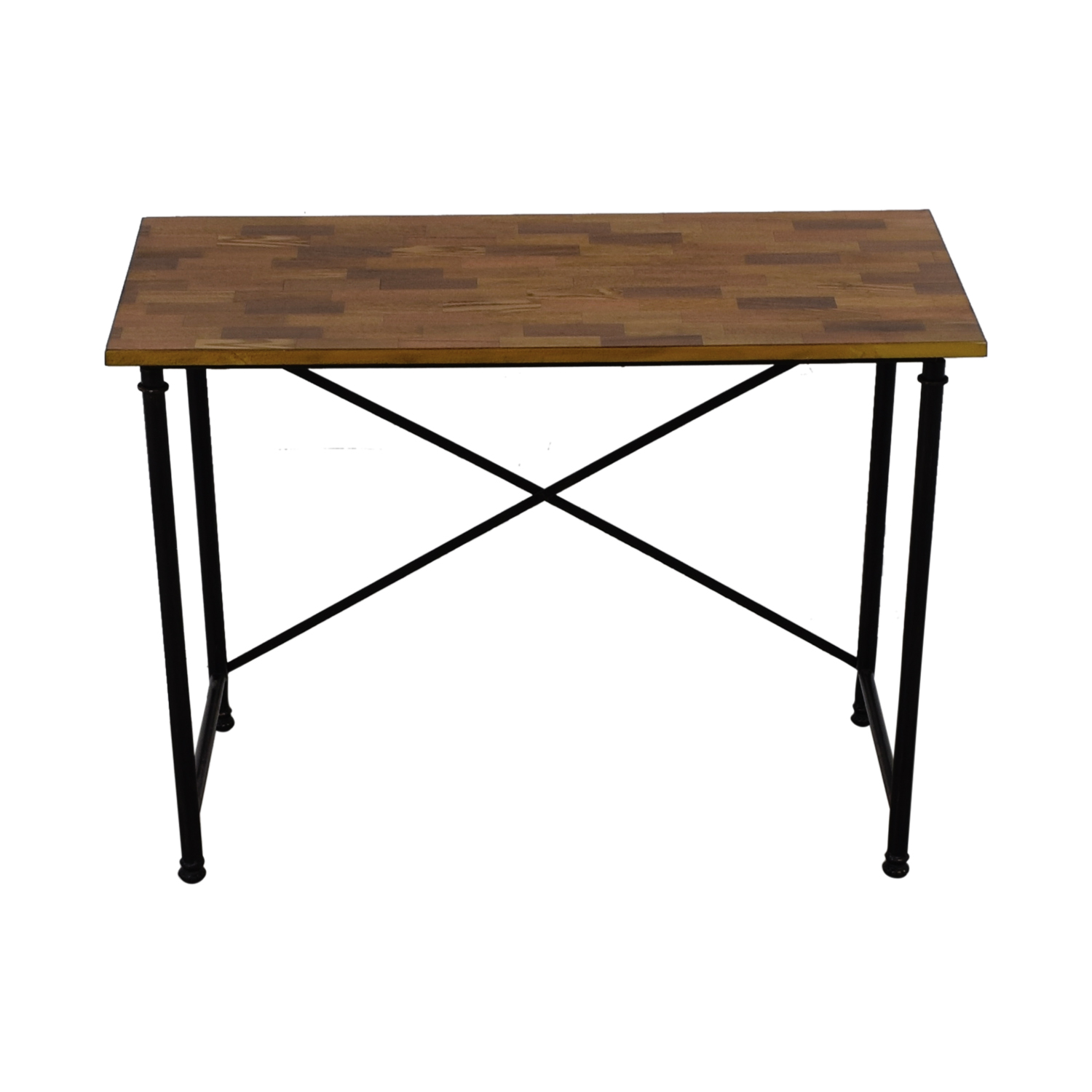 Wood and Metal Desk Tables