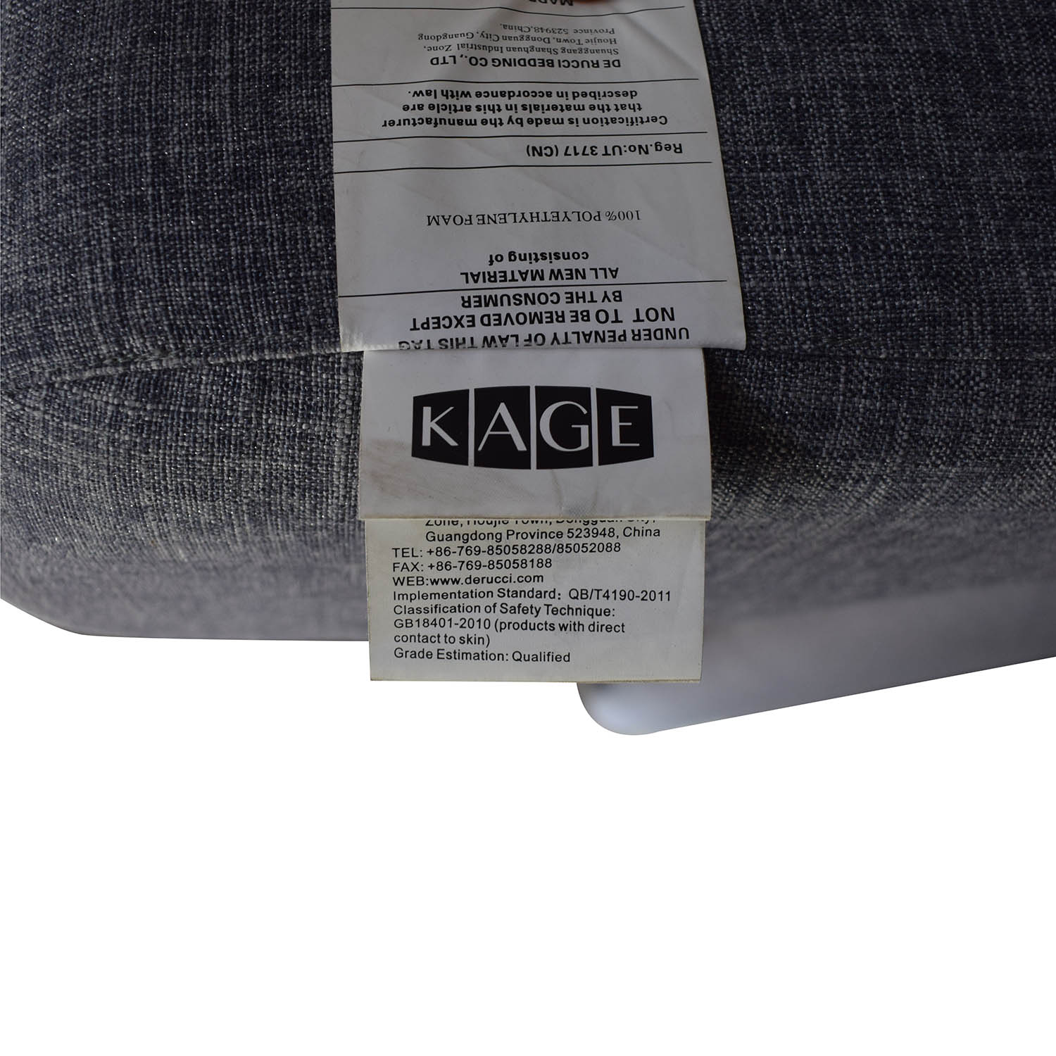 buy De Rucci Full Size Bed with Back Cushions De Rucci
