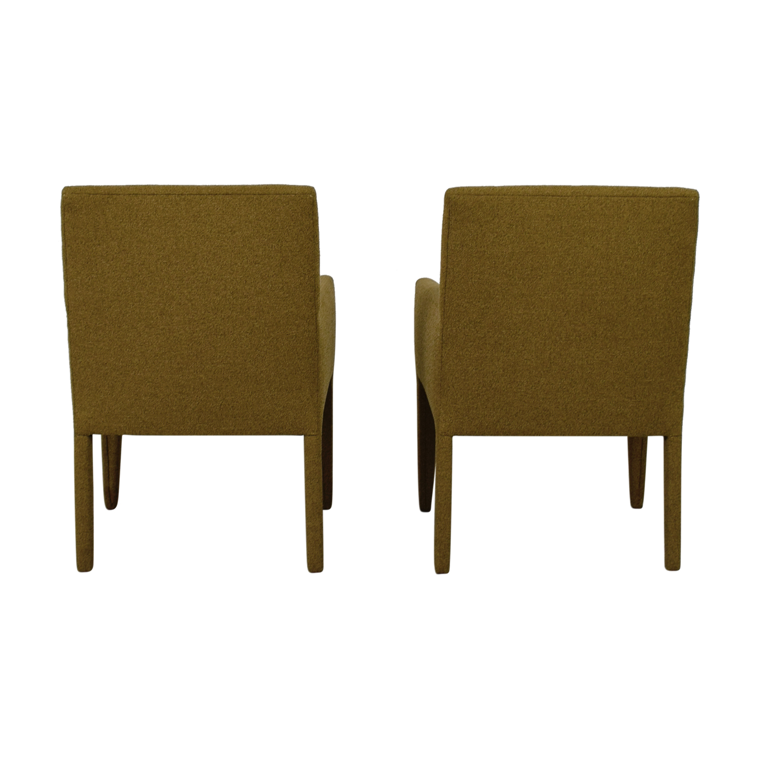 Macy's Macy's Olive Green Club Chairs used