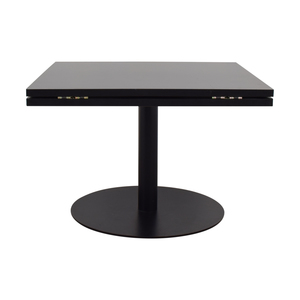 shop  Black Square to Round Foldable Sides Table online