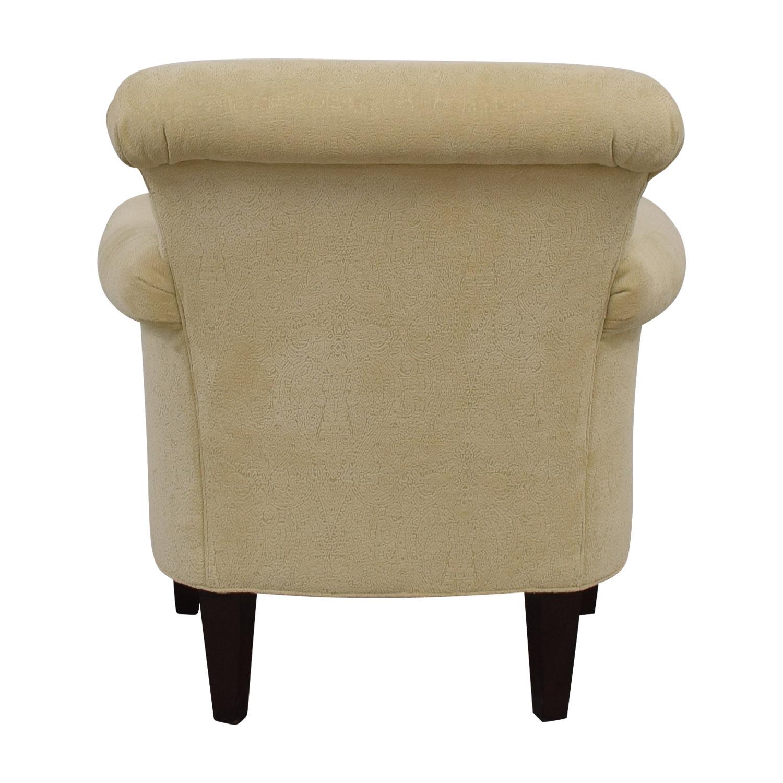 shop Thomasville Cream Lucille Chair Thomasville