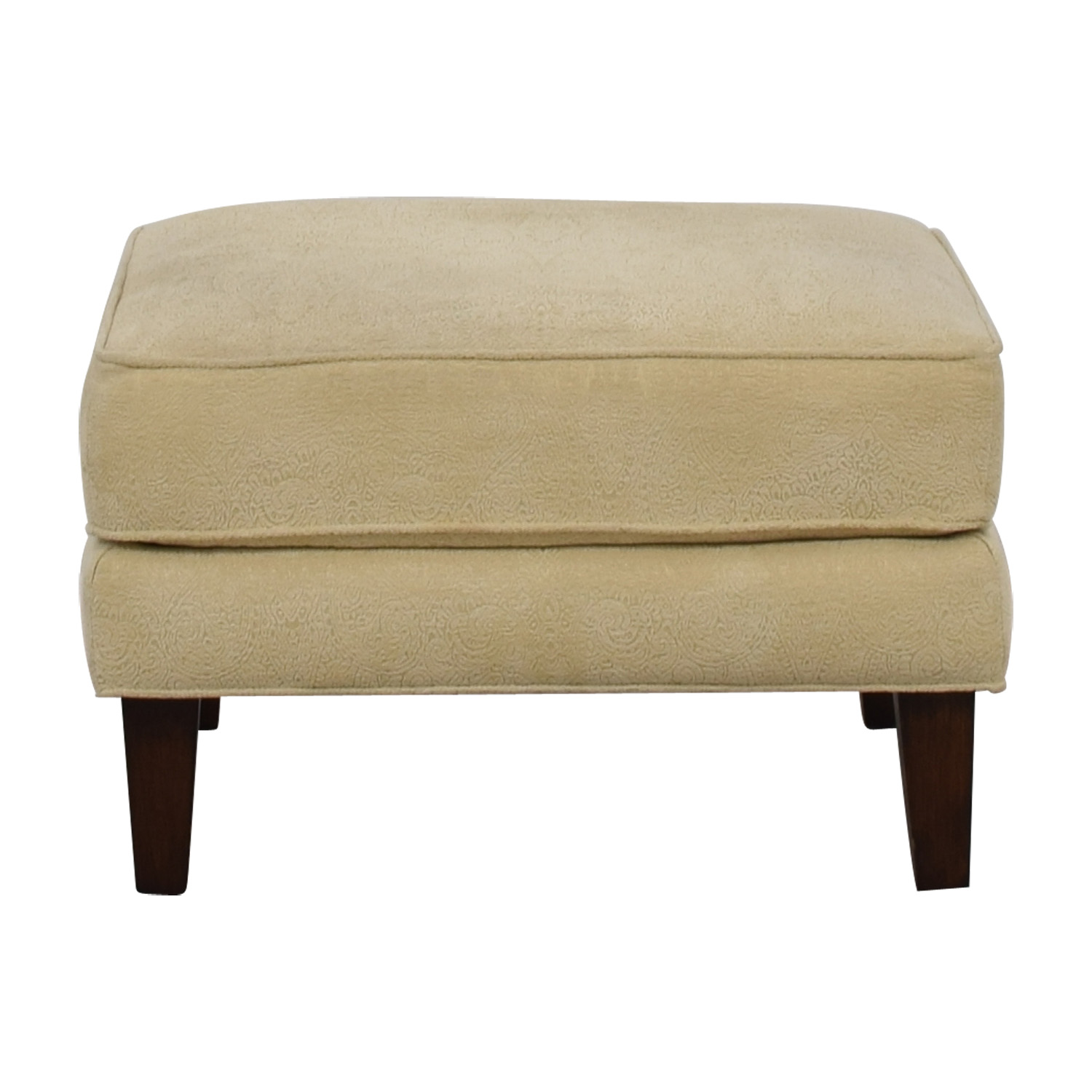 Thomasville Cream Ottoman / Chairs