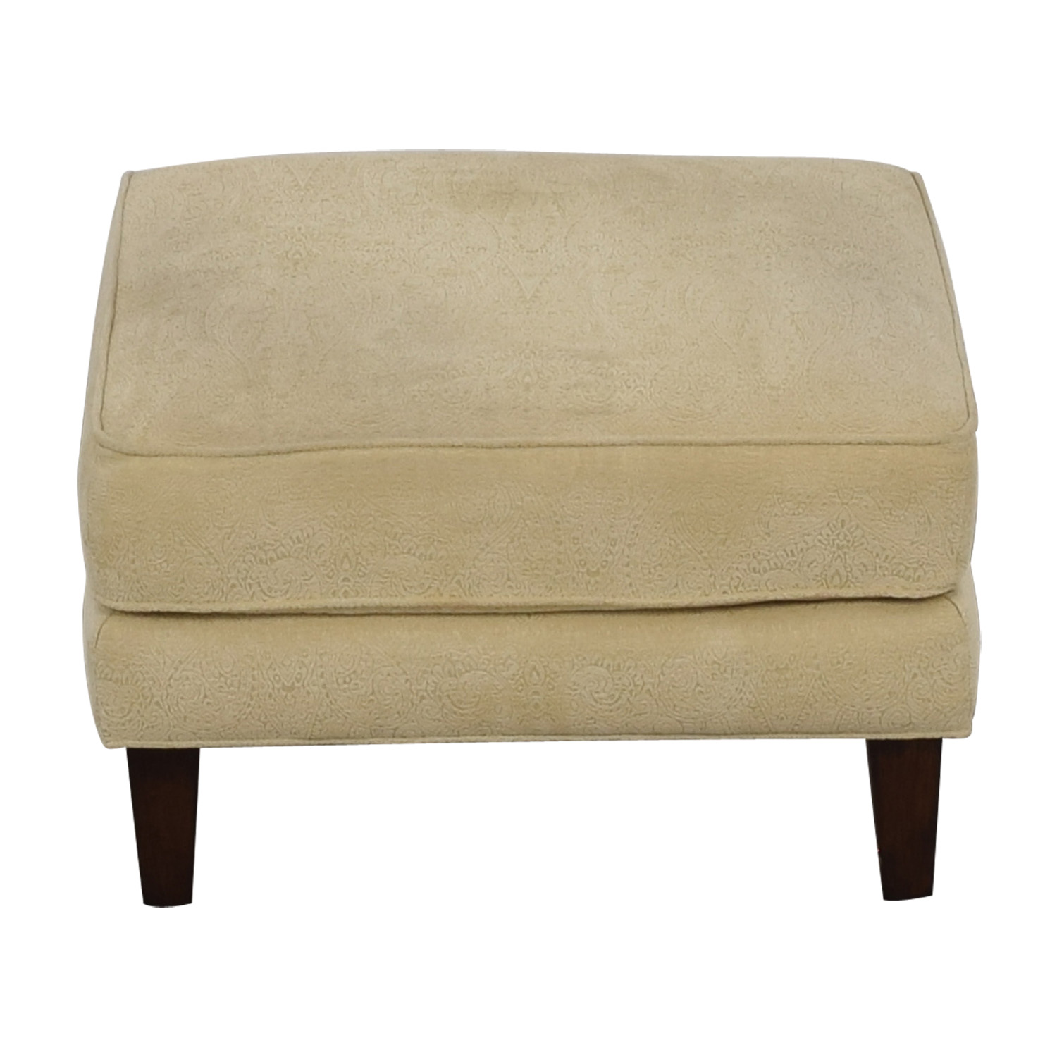 Thomasville Thomasville Cream Ottoman used