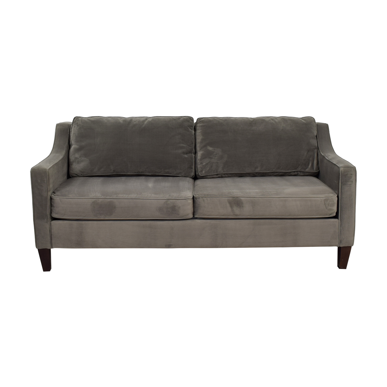 West Elm Paidge Grey Sofa / Sofas