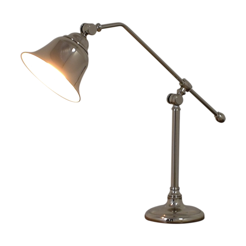 Pottery Barn Pottery Barn Silver Desk Lamp nyc