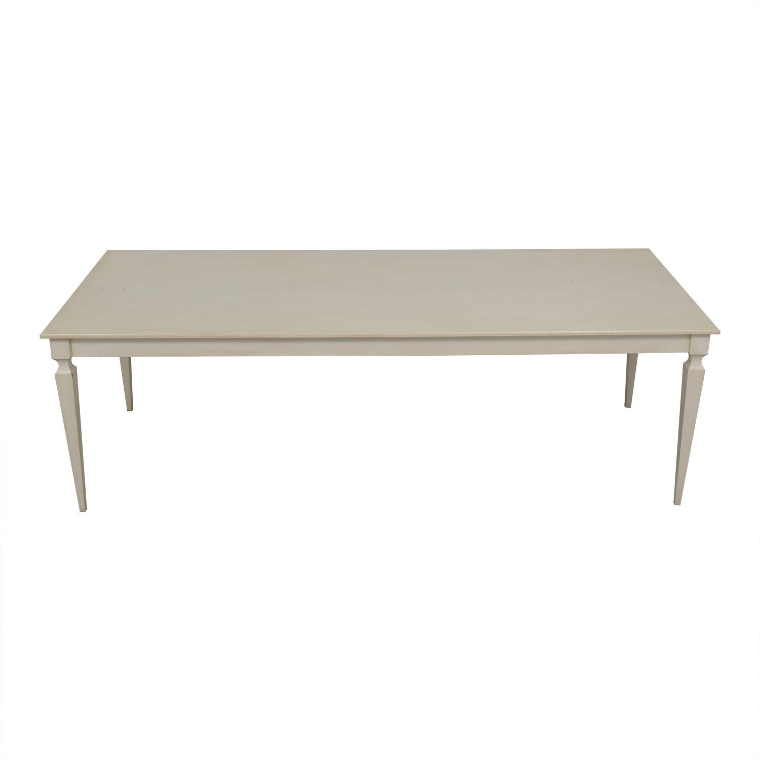 buy Off White Dining Table  Tables