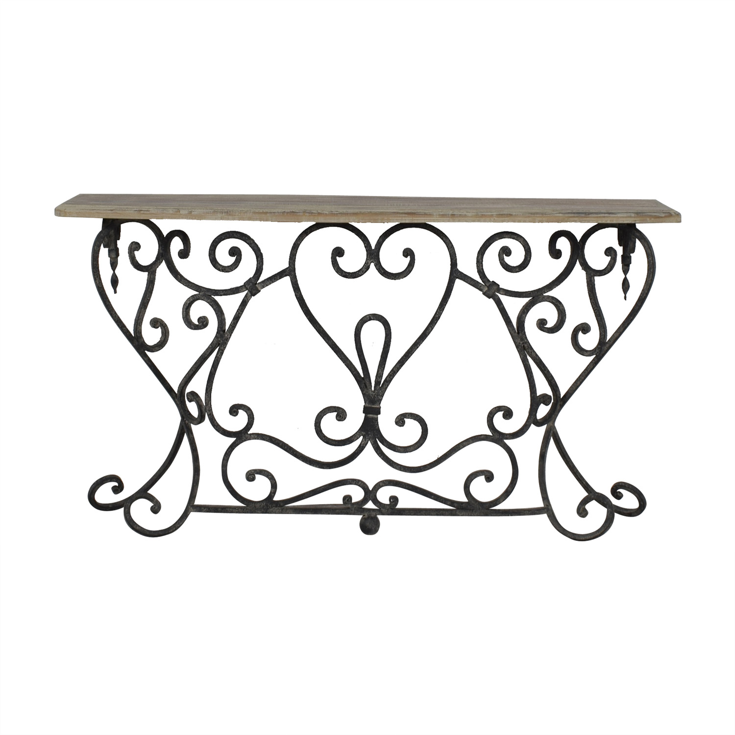 Wrought Iron Console Table Tables