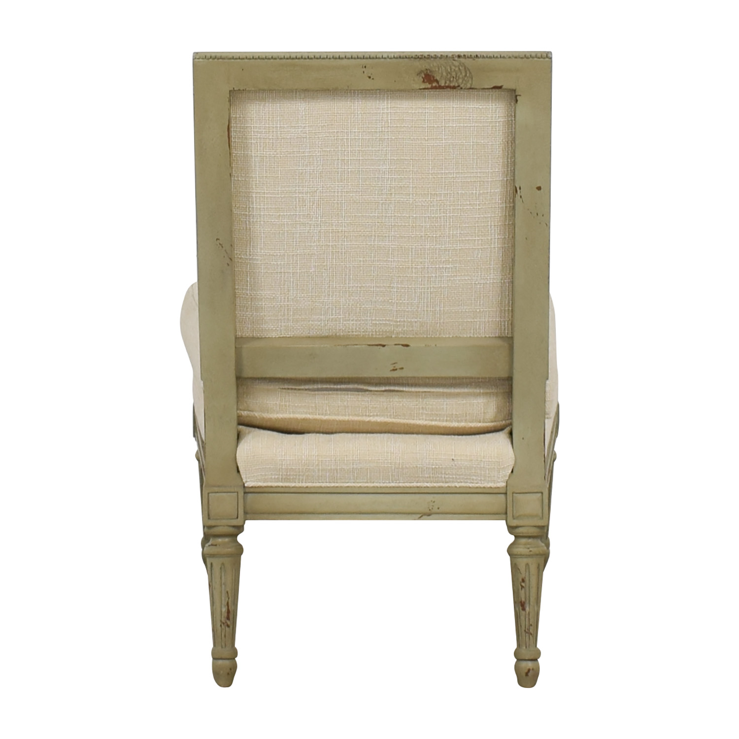 buy Hickory Chair Custom Linen Upholstered Chair Hickory Chair