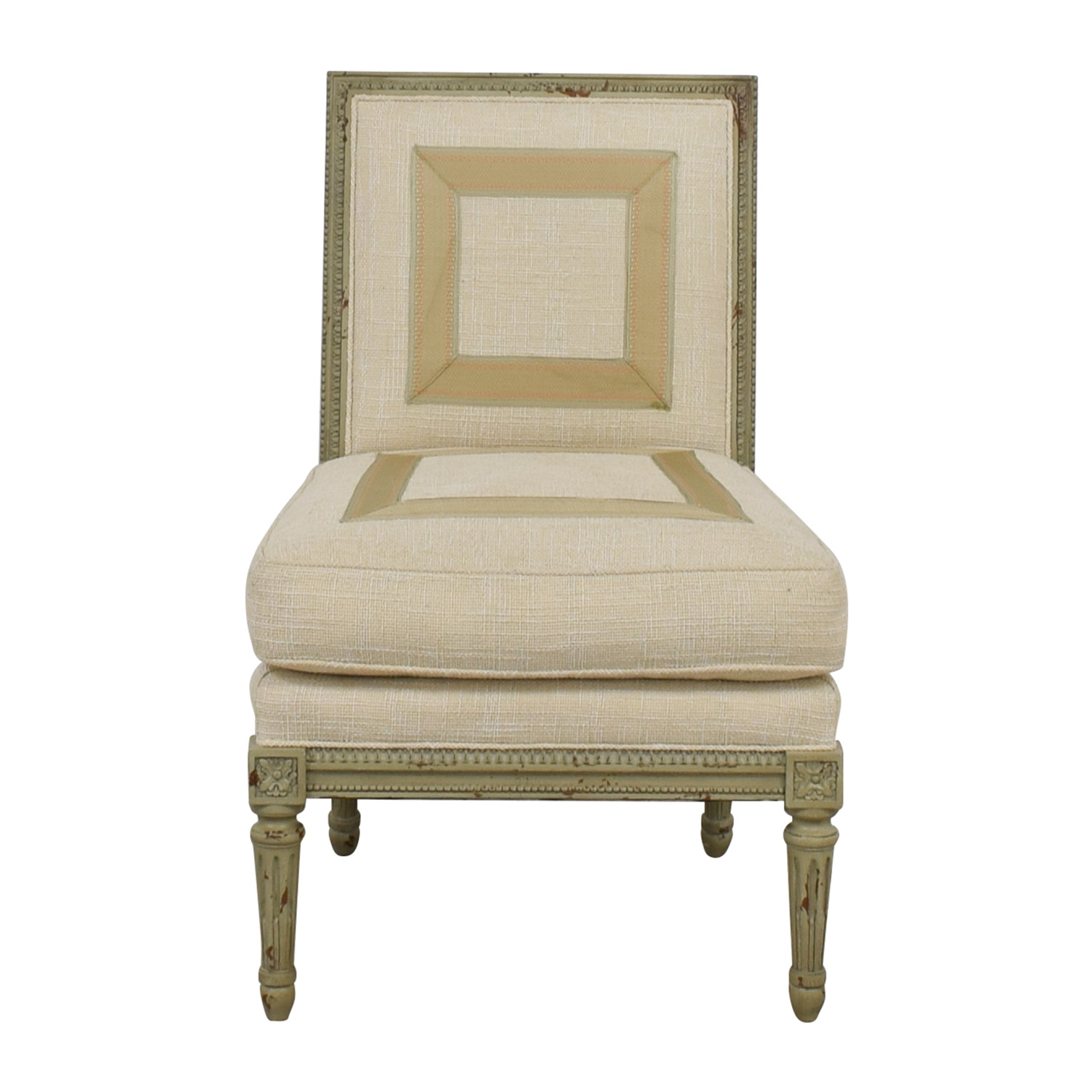 Hickory Chair Hickory Chair Custom Linen Upholstered Chair dimensions