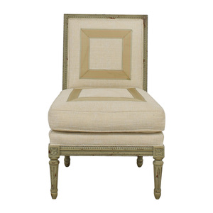shop Hickory Chair Custom Linen Upholstered Chair Hickory Chair