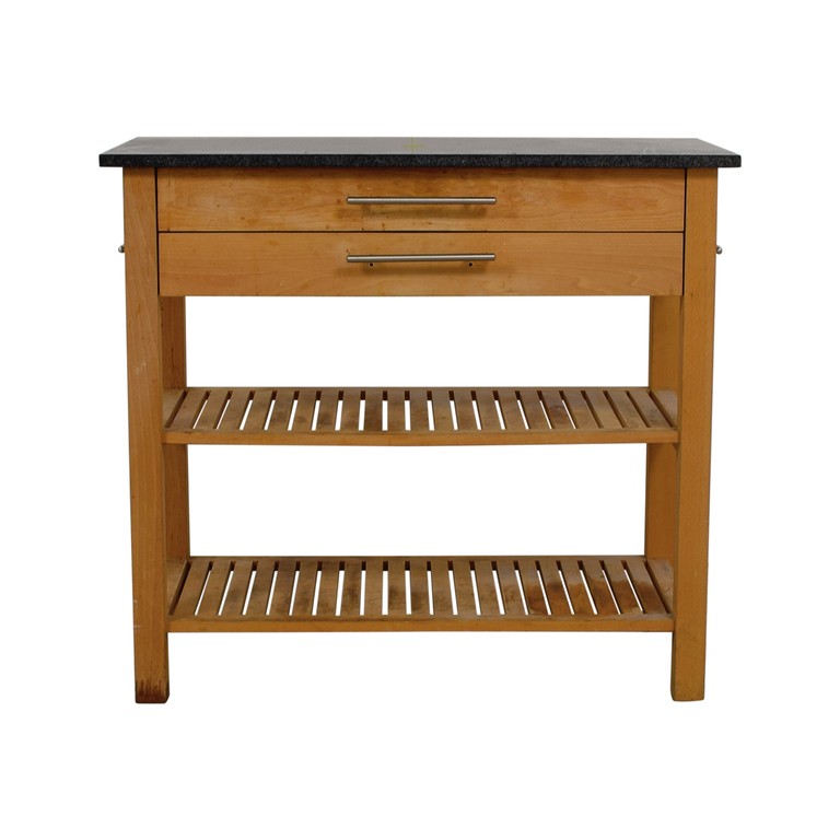 Two-Drawer Butcher Block coupon