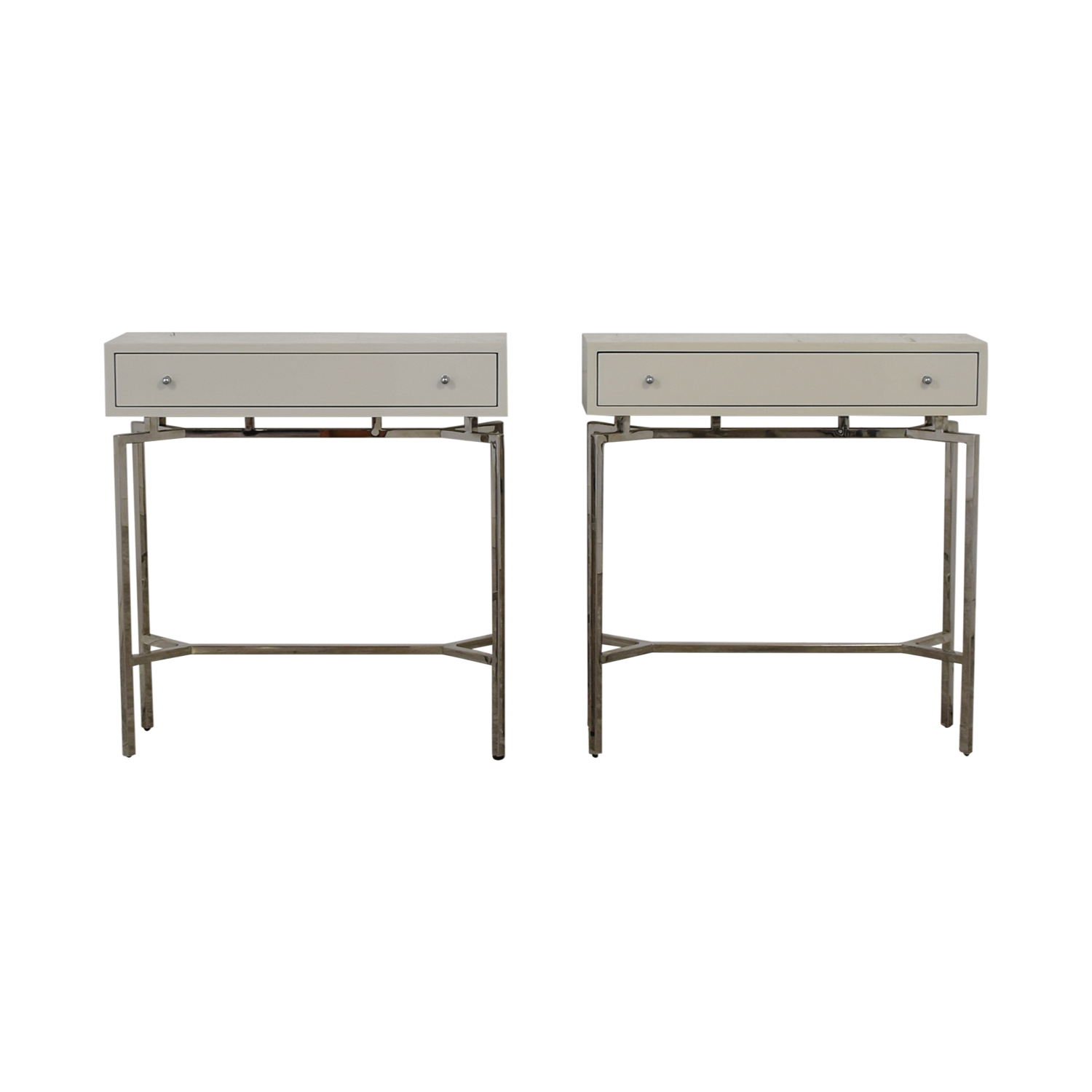 Mitchell Gold + Bob Williams Mitchell Gold + Bob Williams Ming Console Tables used