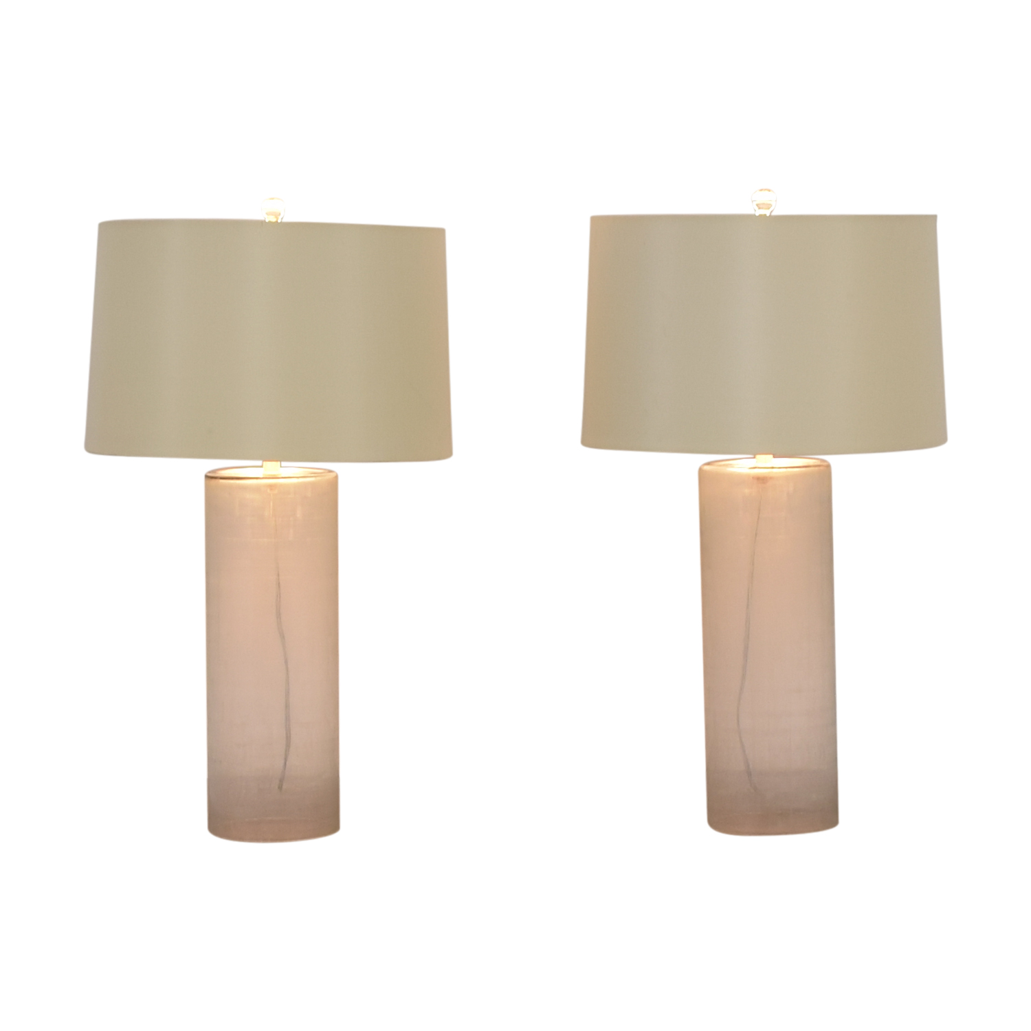 Mitchell Gold + Bob Williams Mitchell Gold + Bob Williams Etched Glass Table Lamps coupon