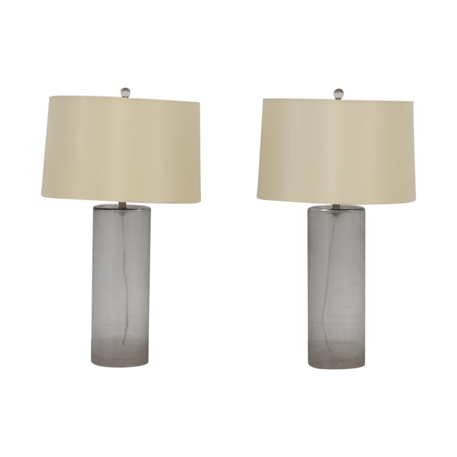 Mitchell Gold + Bob Williams Mitchell Gold + Bob Williams Etched Glass Table Lamps dimensions
