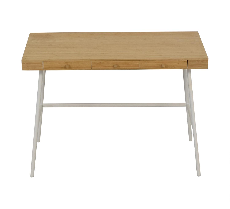 Ikea Lillasen Bamboo Desk Home Office Desks