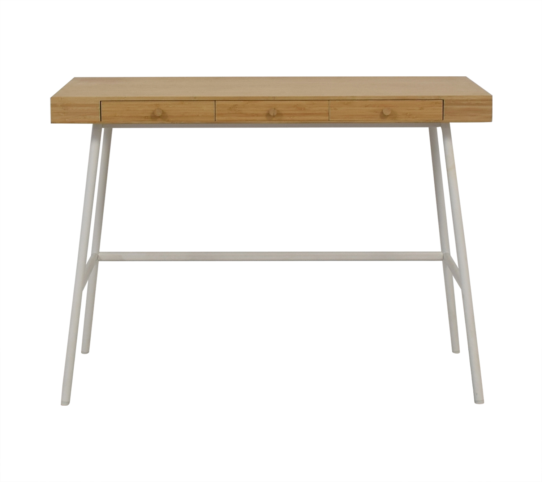 IKEA IKEA Lillasen Bamboo Desk nj