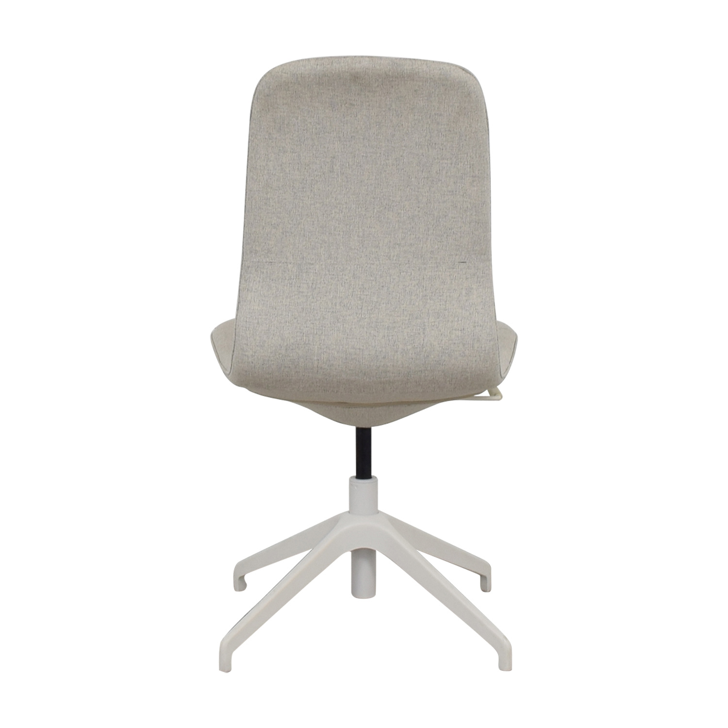 85 Off Ikea Ikea Langfjall Grey Swivel Chair Chairs