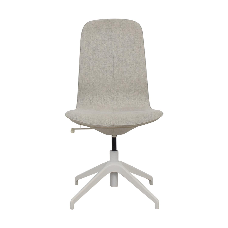 Genial 85% OFF   IKEA IKEA Langfjall Grey Swivel Chair / Chairs