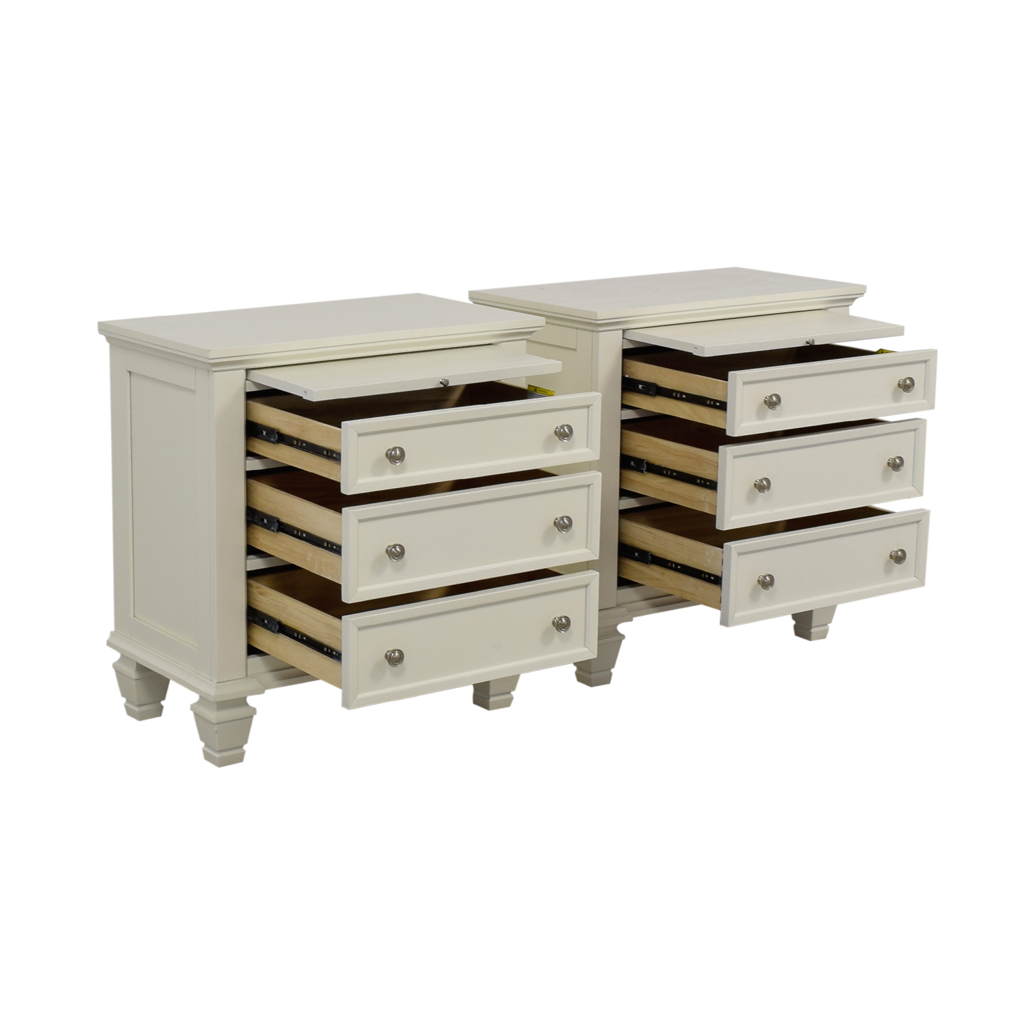 buy Coaster White Bedside Night Stands Coaster Tables