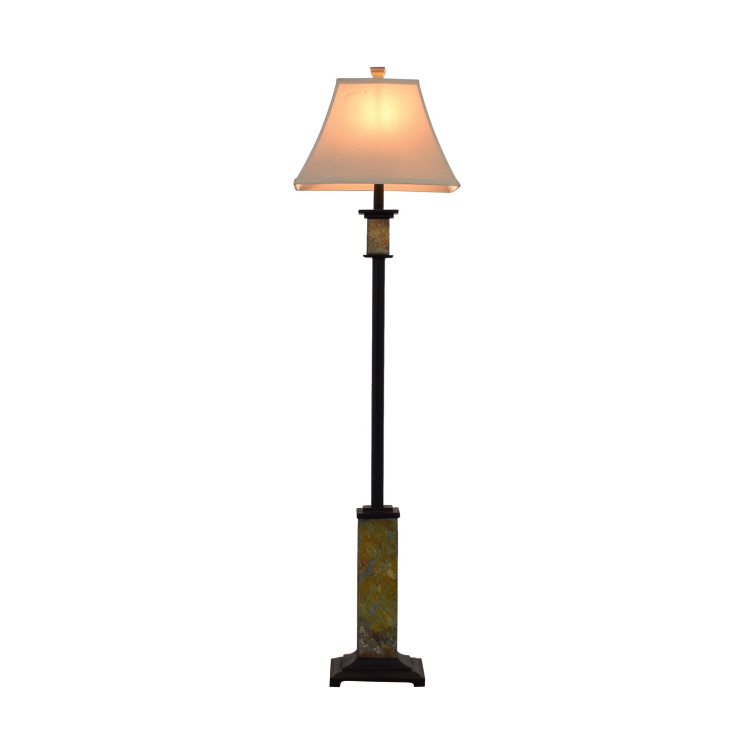 Multi Color Base Standing Lamp dimensions