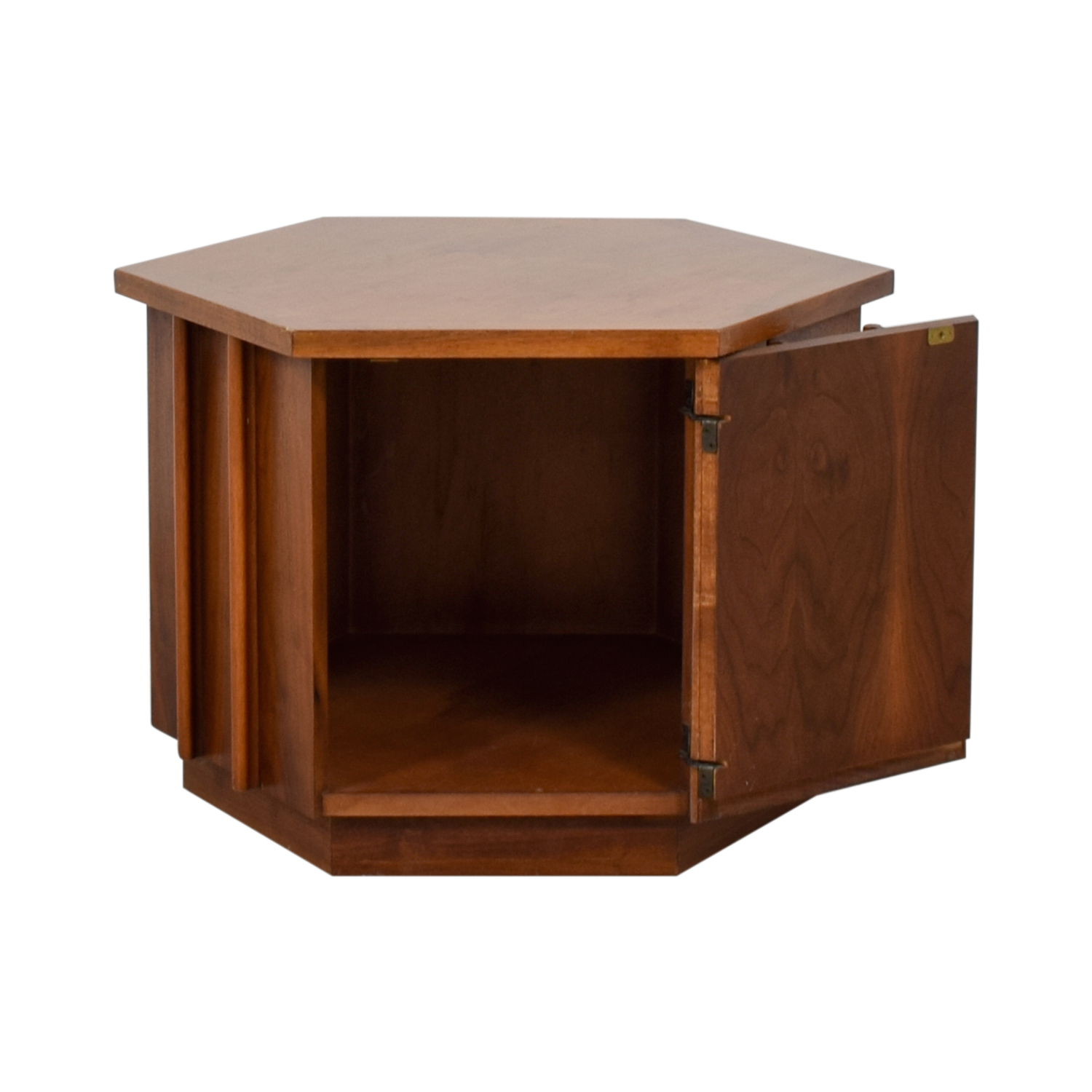 shop Lane Wood Octagonal End Table Lane