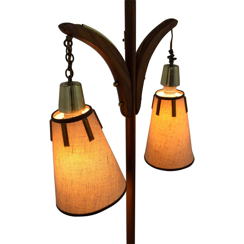 Vintage Floor Lamp Decor
