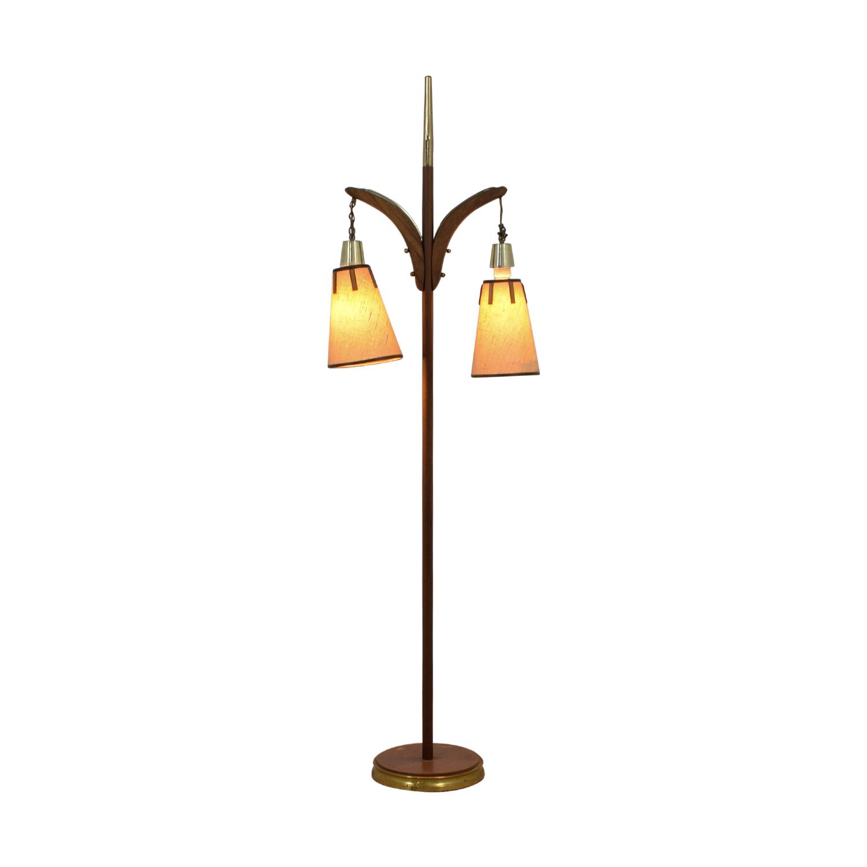 Vintage Floor Lamp / Decor
