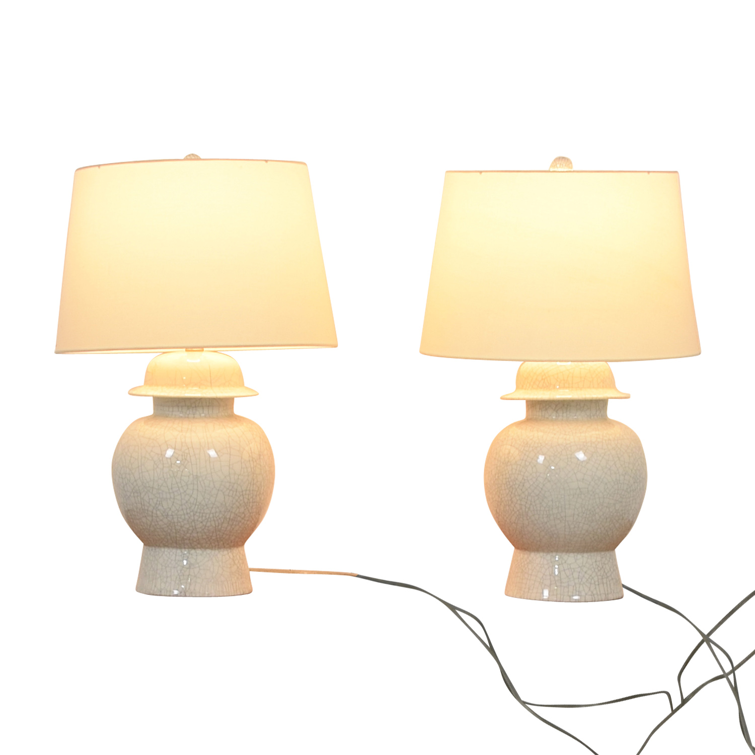 Off White Large Table Lamps