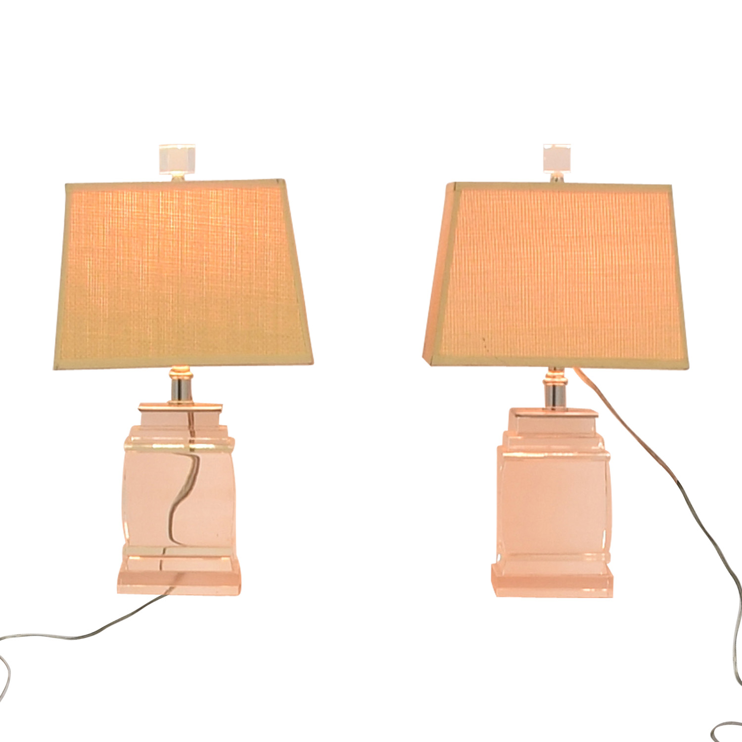 buy Glass Base Table Lamps  Lamps