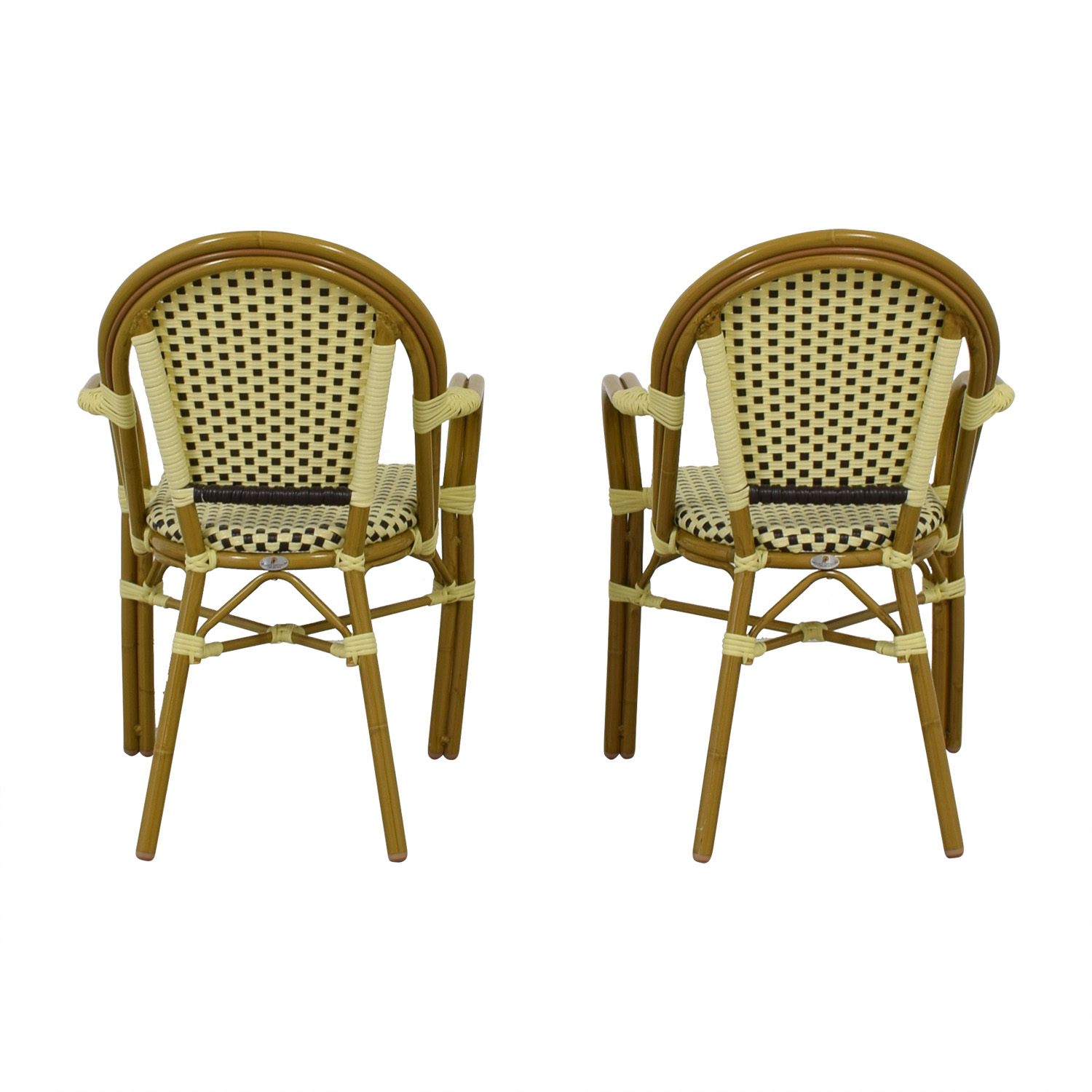 shop  Checkerboard Bistro Chairs online