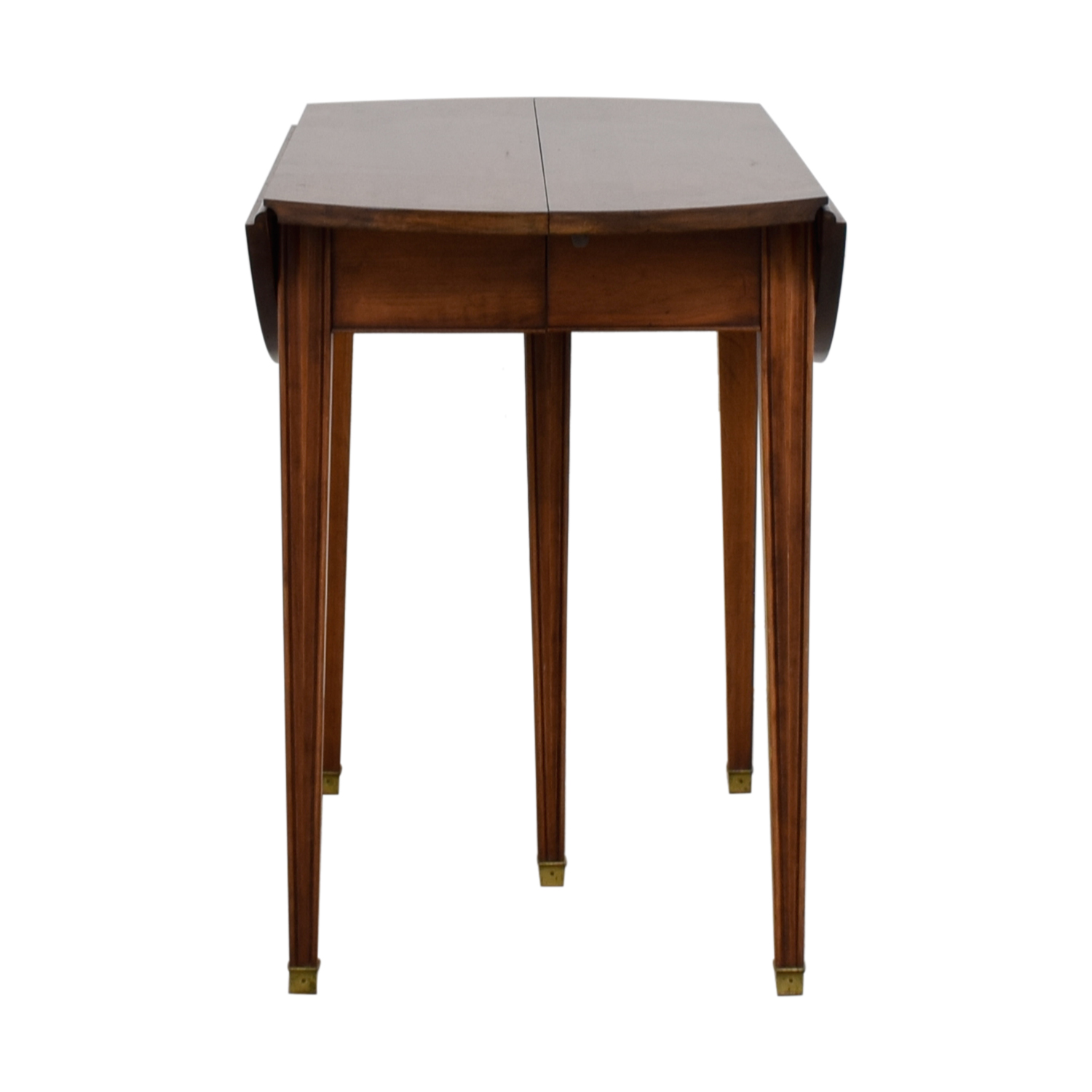 buy Henkel Harris Cherry Expandable Table with Four Leaves Henkel Harris Tables