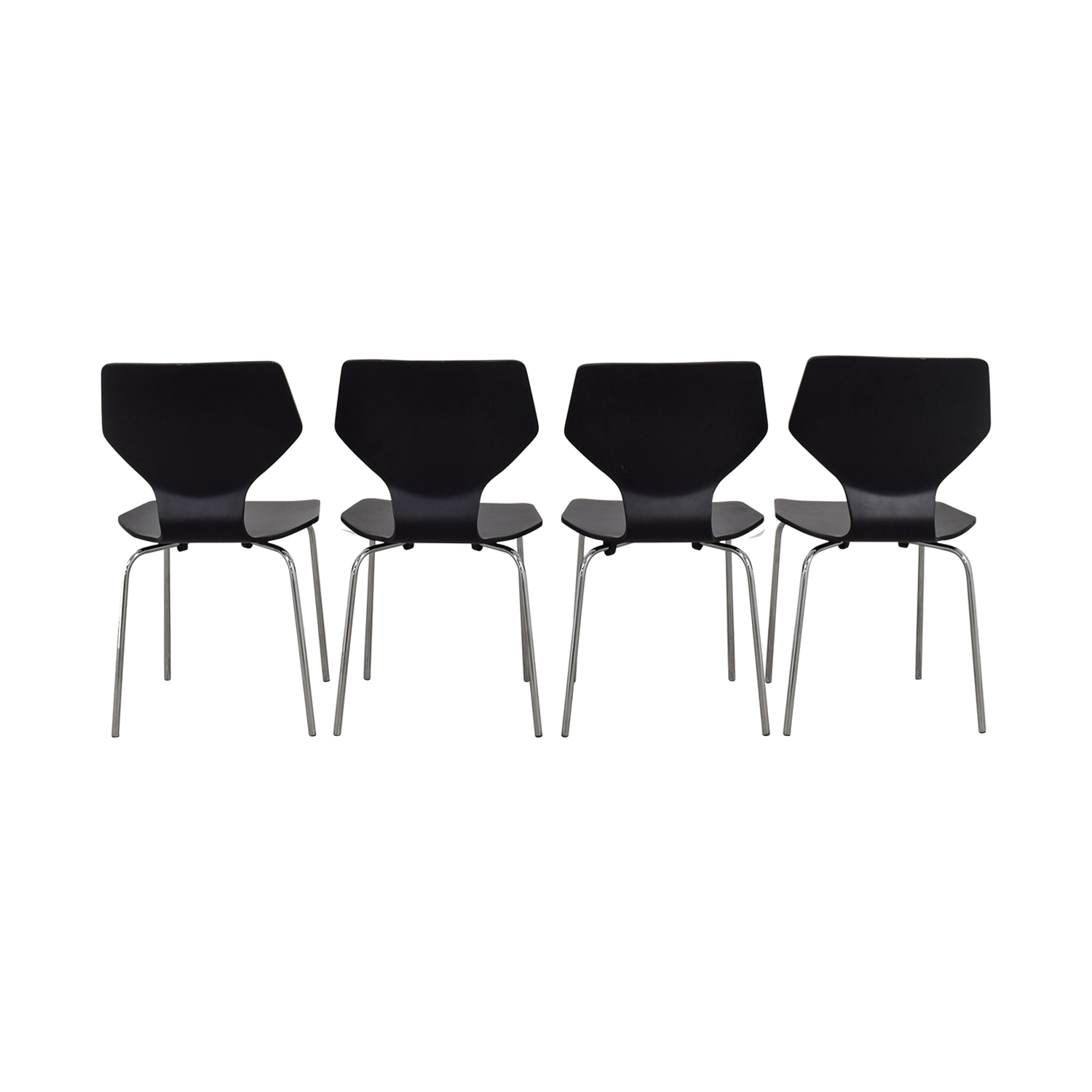Room & Board Pike Chair with Chrome Base / Chairs