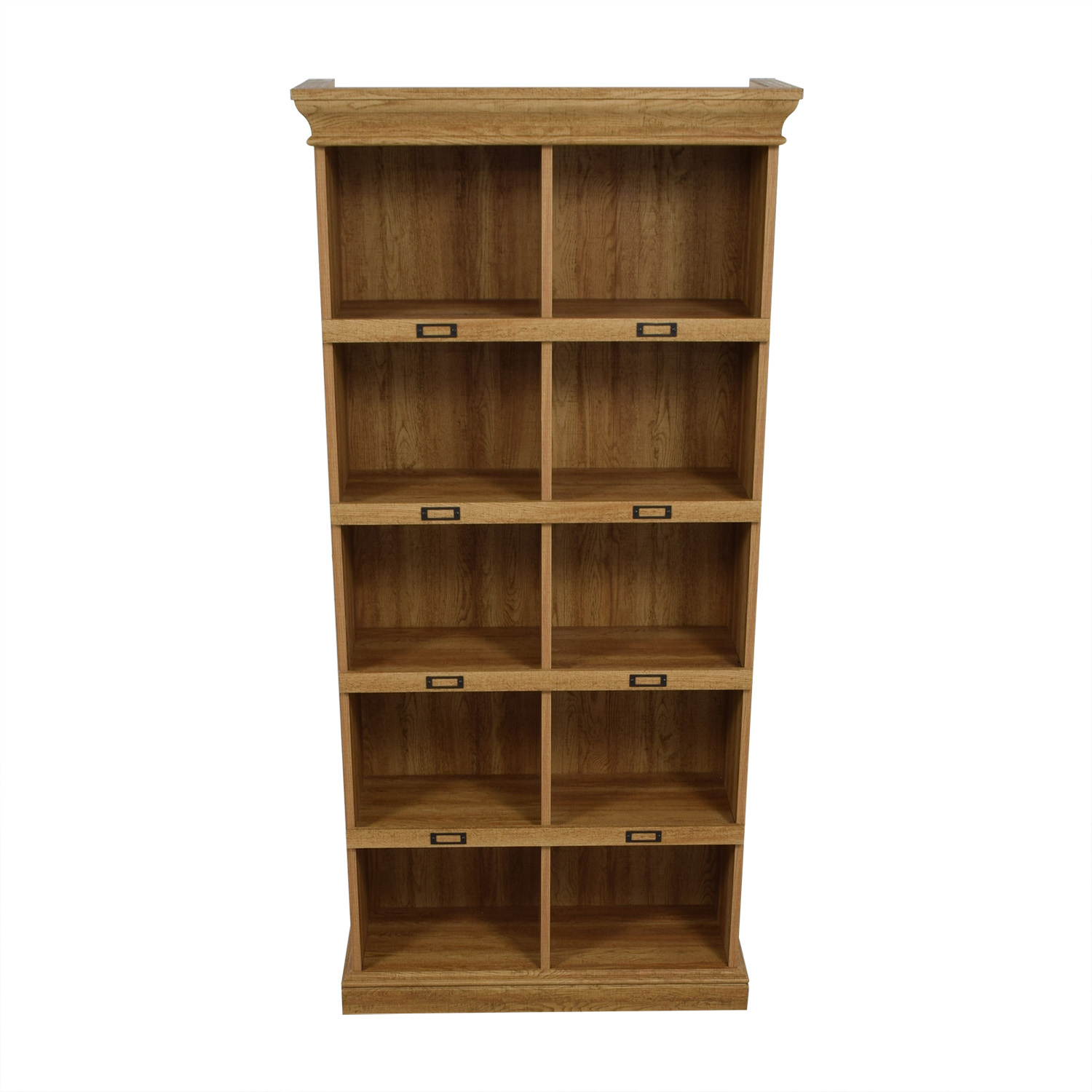 shop Beachcrest Home Bowerbank Standard Bookcase Beachcrest Home Bookcases & Shelving
