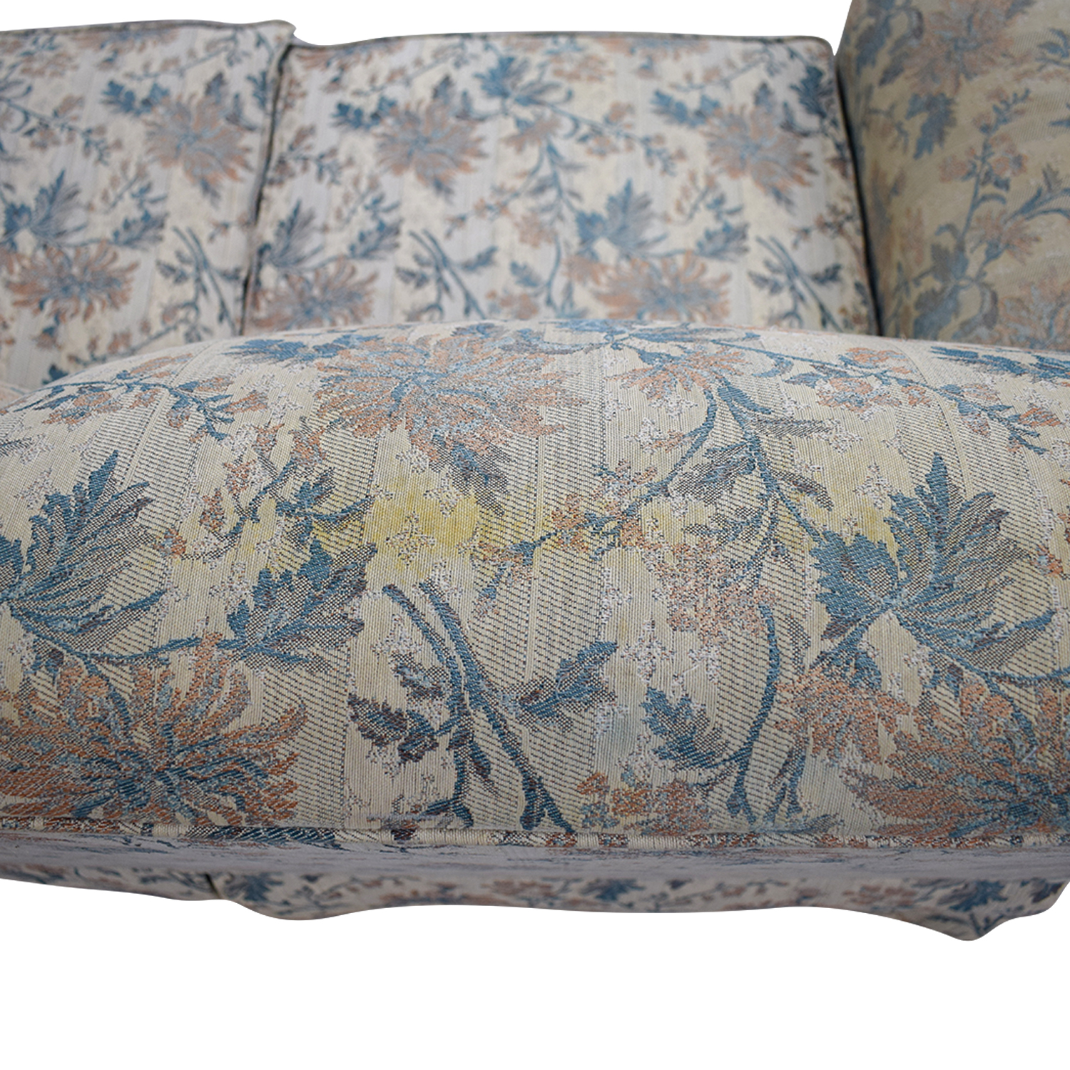 Stupendous 90 Off Broyhill Furniture Broyhill Upholstery Furniture Yellow Flower Fabric Loveseat Sofas Forskolin Free Trial Chair Design Images Forskolin Free Trialorg